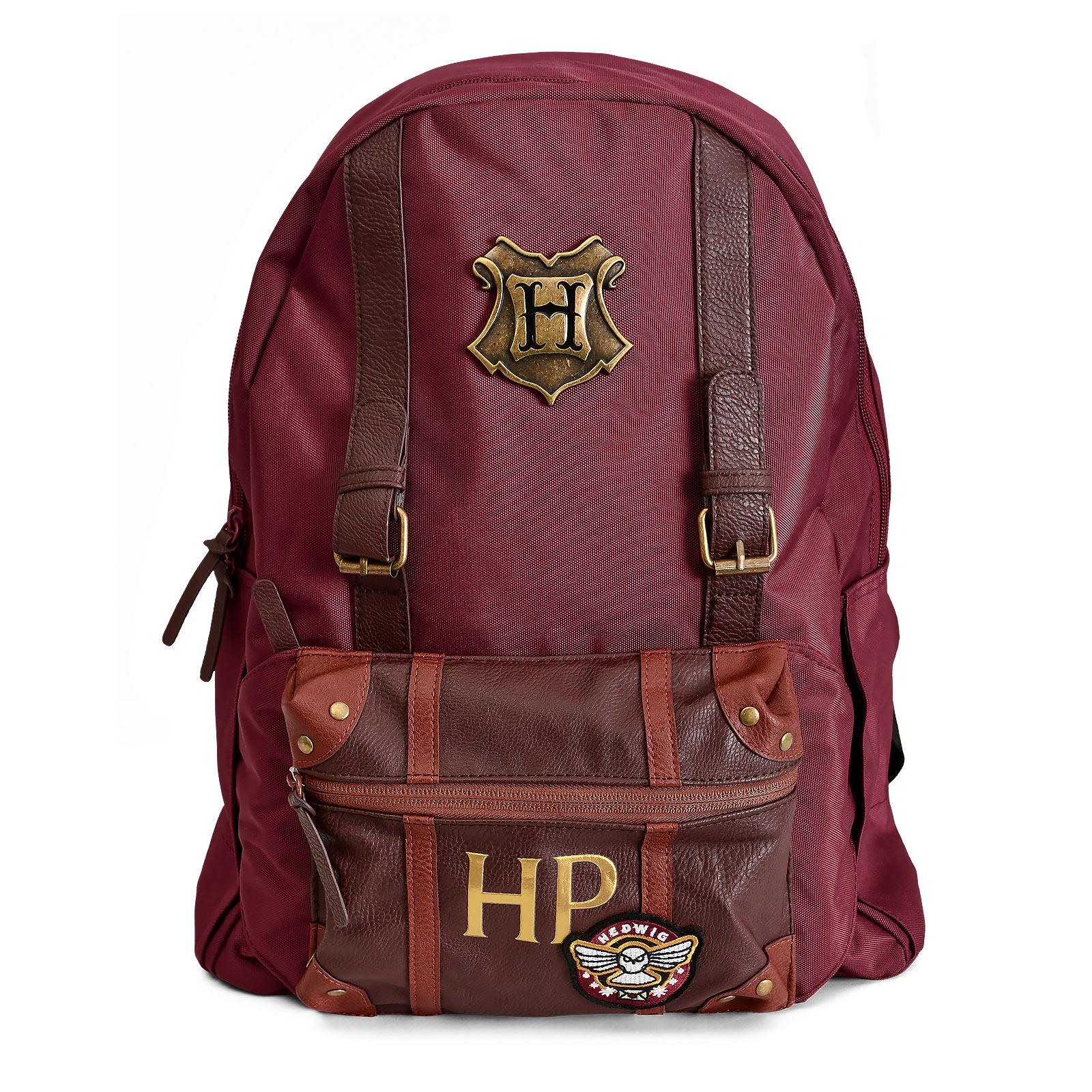 Harry Potter - Hogwarts Rucksack mit Gürteltasche