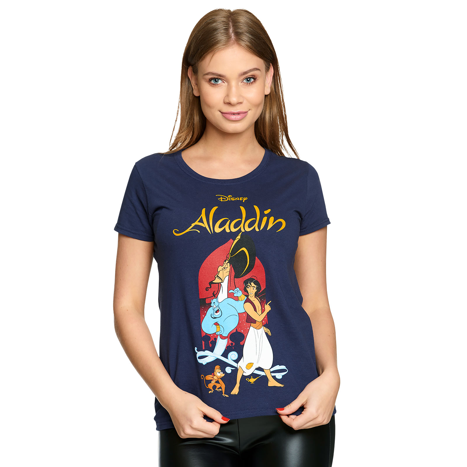 Aladdin - Dschafar und Aladdin T-Shirt Damen blau