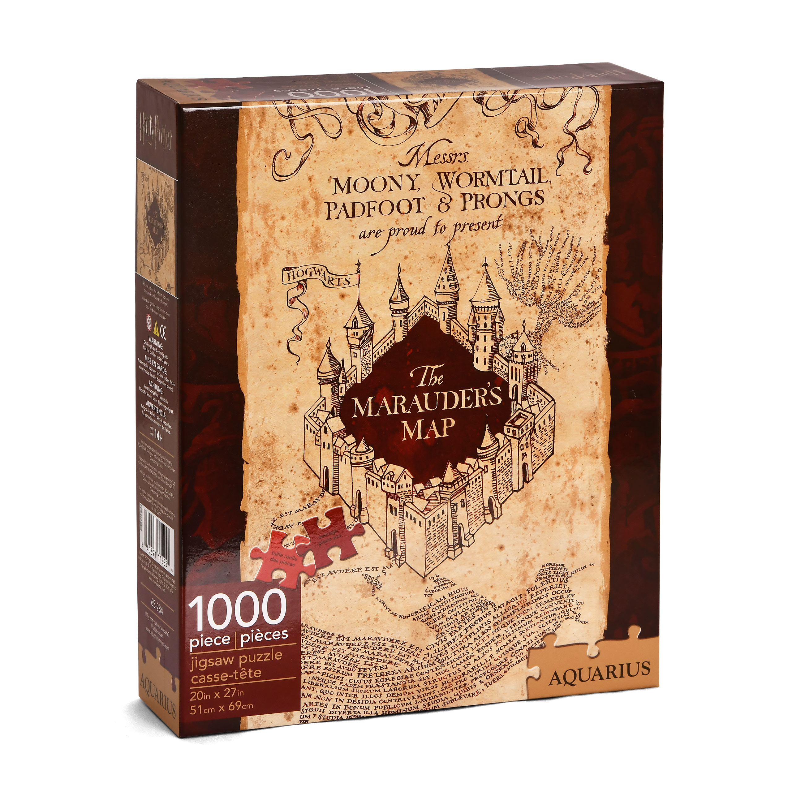 Harry Potter - Die Karte des Rumtreibers Puzzle 1000 Teile