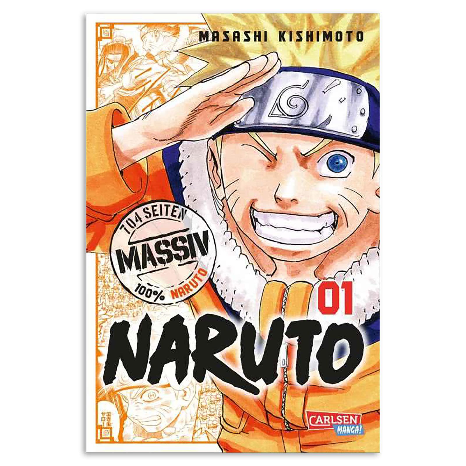 Naruto - Sammelband 1 Taschenbuch