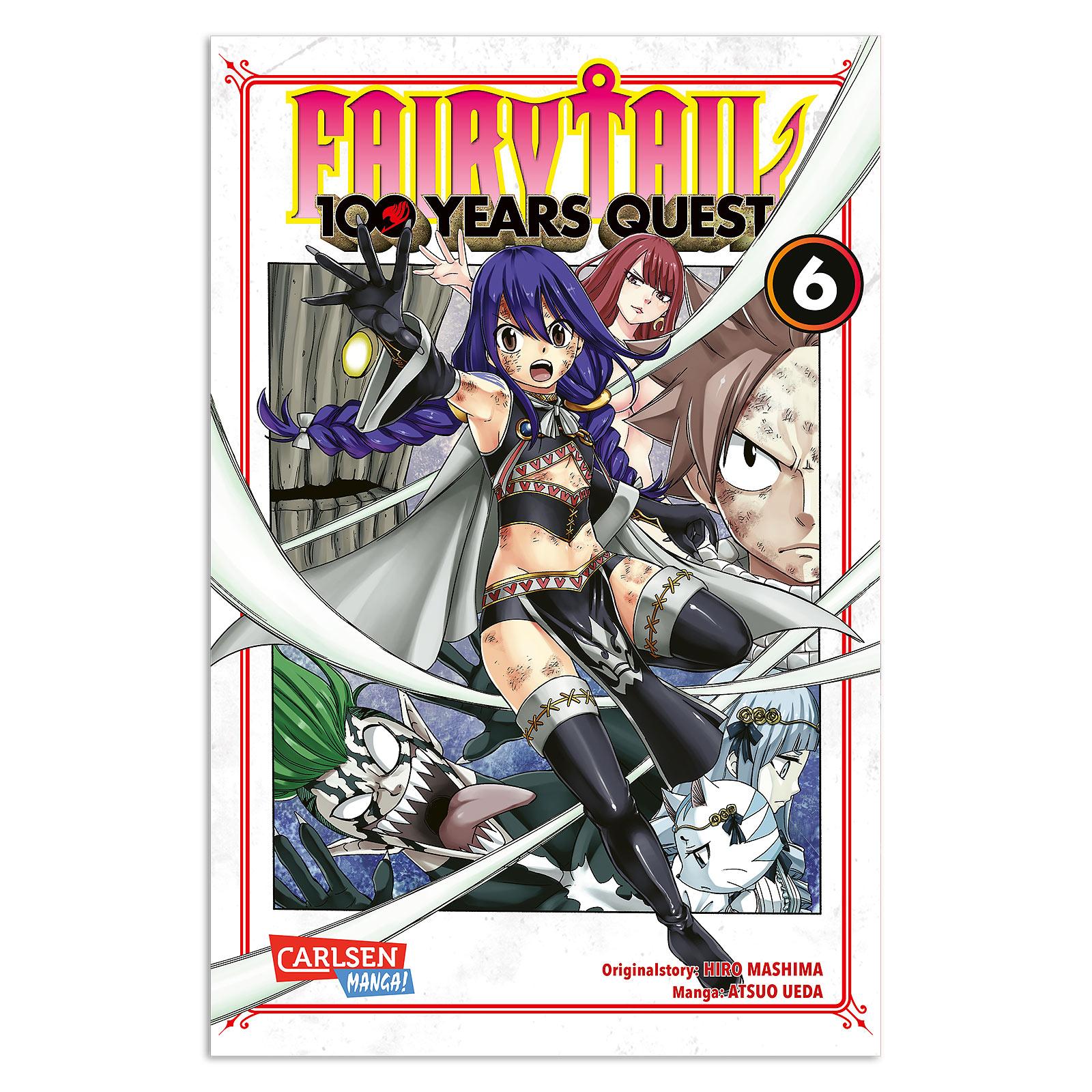 Fairy Tail - 100 Years Quest Band 6 Taschenbuch