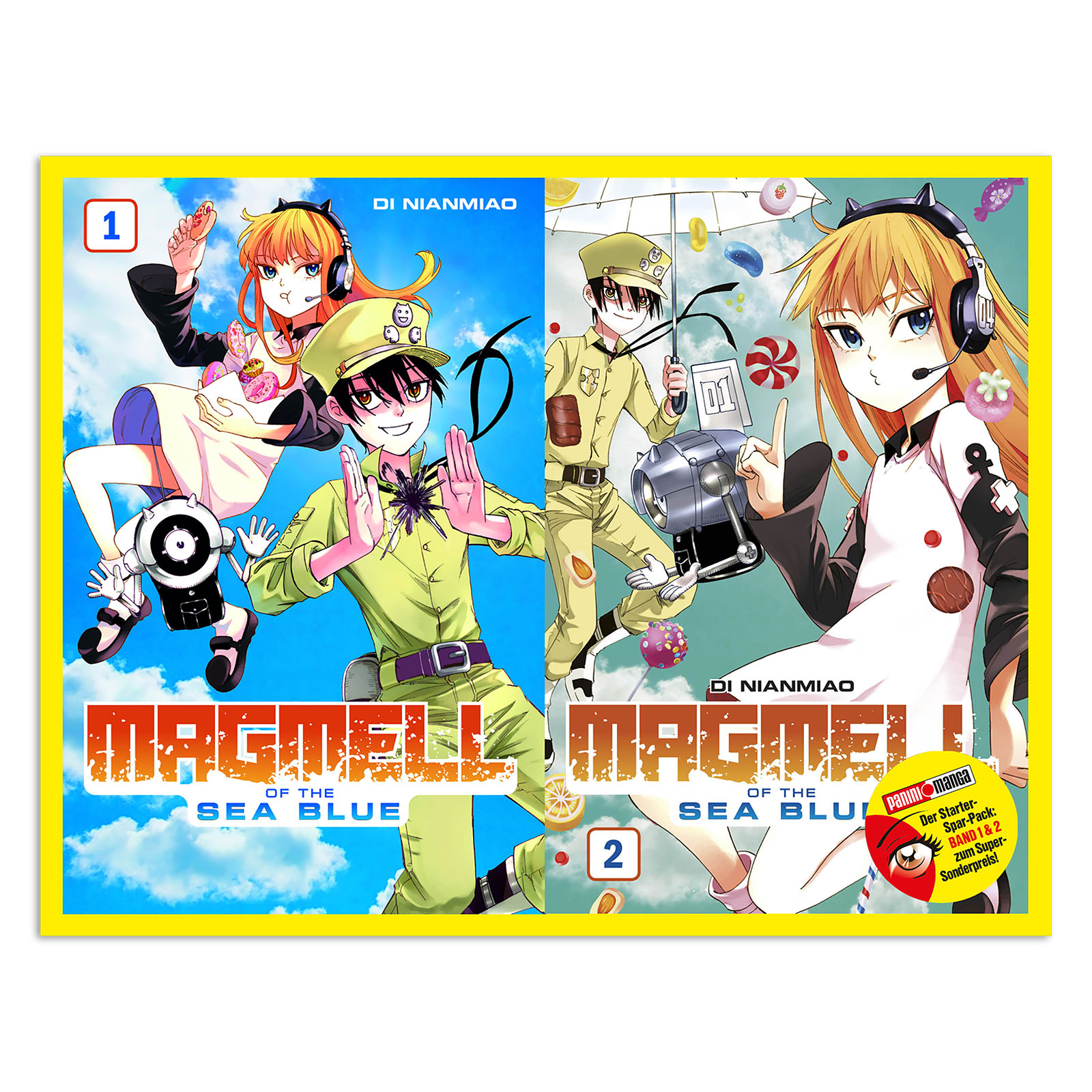 Magmell of the Sea Blue - Band 1 und 2 Starter-Set