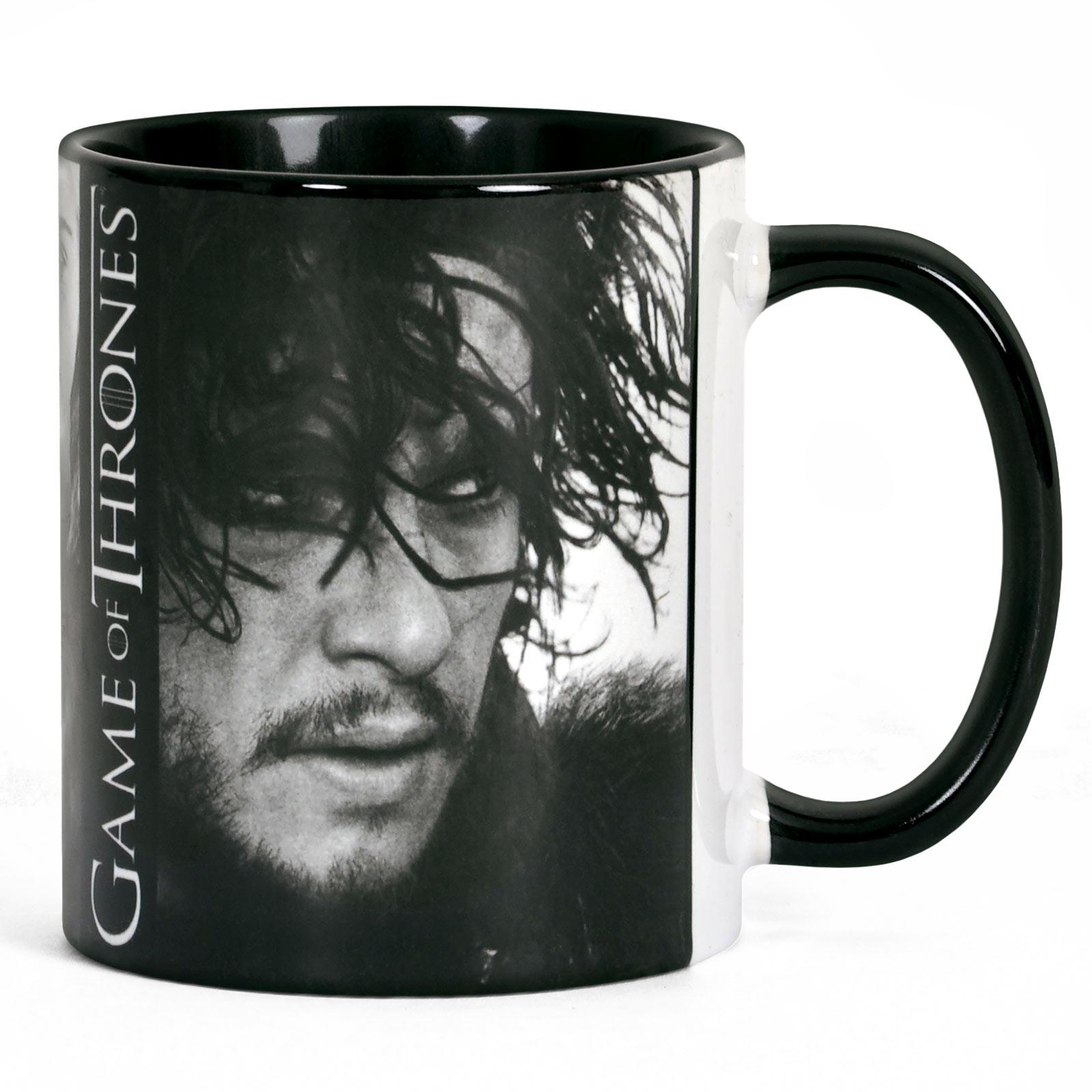 Game of Thrones - Jon Snow Tasse - Black Line