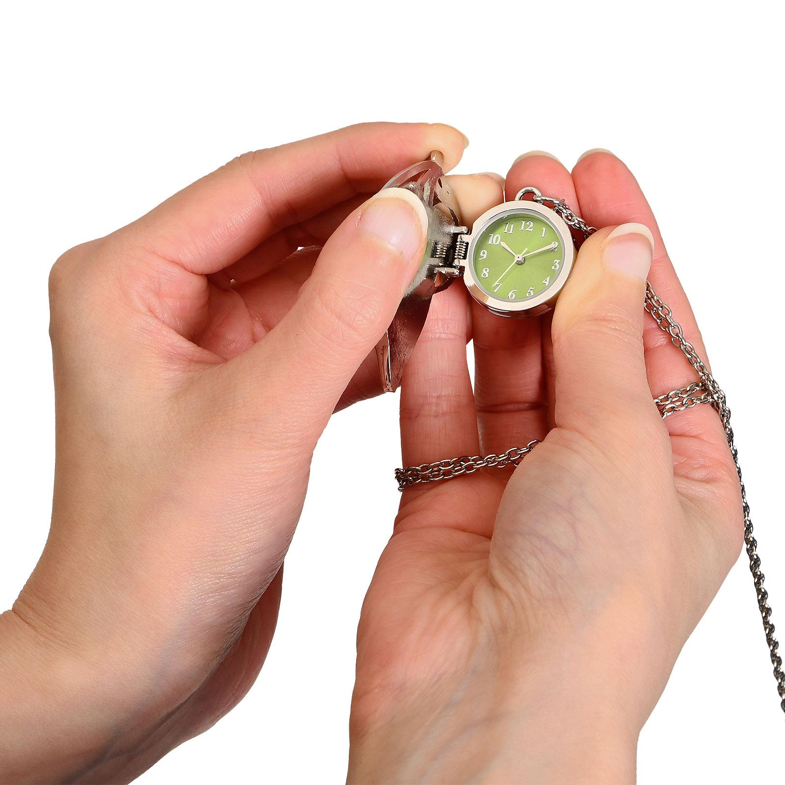 Herr der Ringe - Blattbrosche Taschenuhr