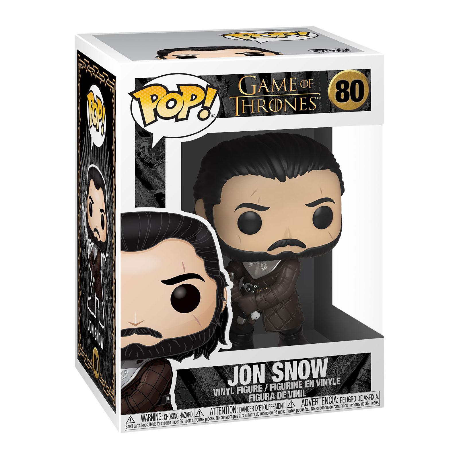 Game of Thrones - Jon Snow Season 8 Funko Pop Figur