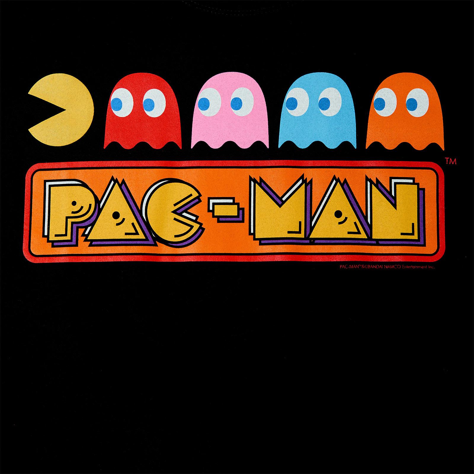 Pac-Man - Chase T-Shirt schwarz