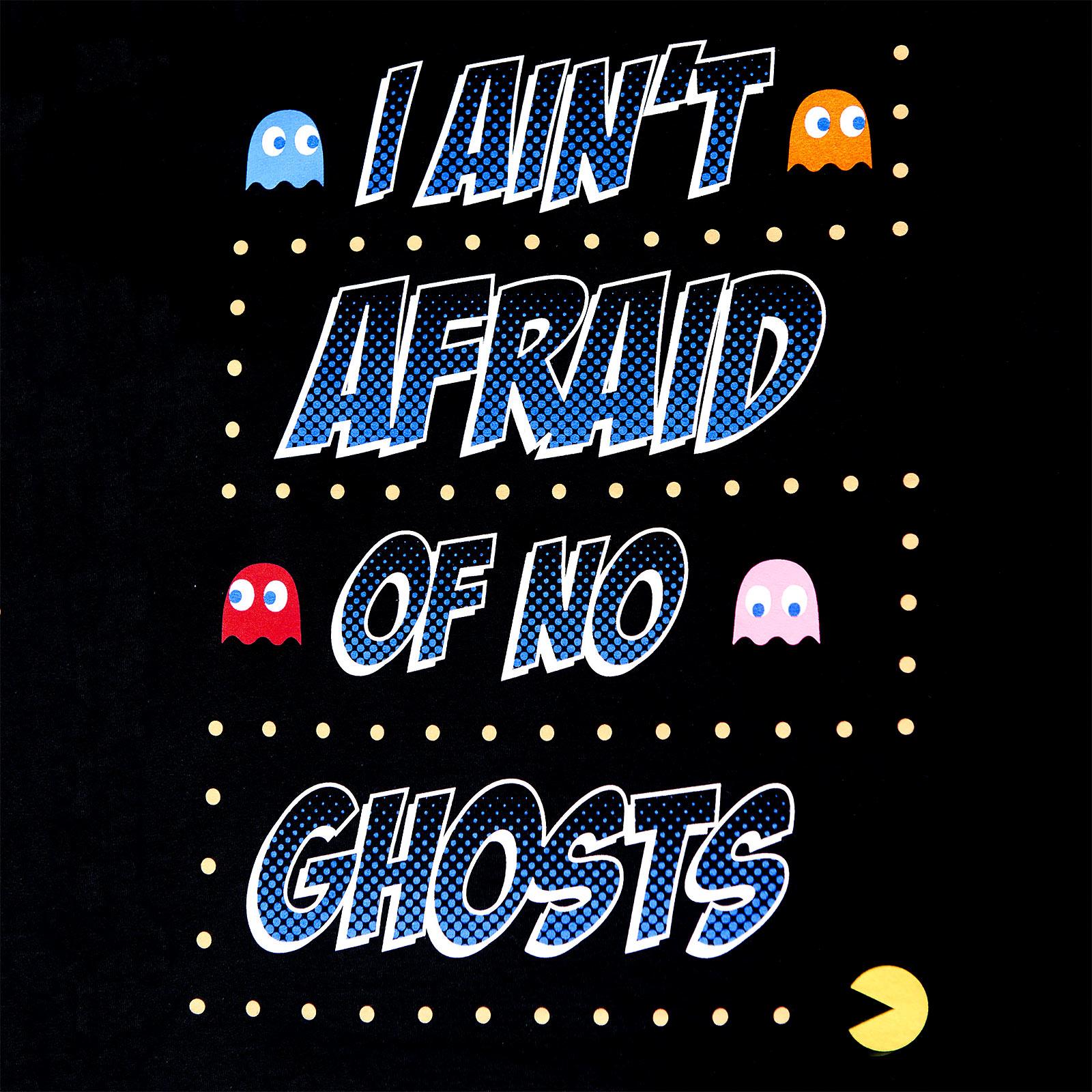 Pac-Man - Ain't Afraid of No Ghosts T-Shirt schwarz