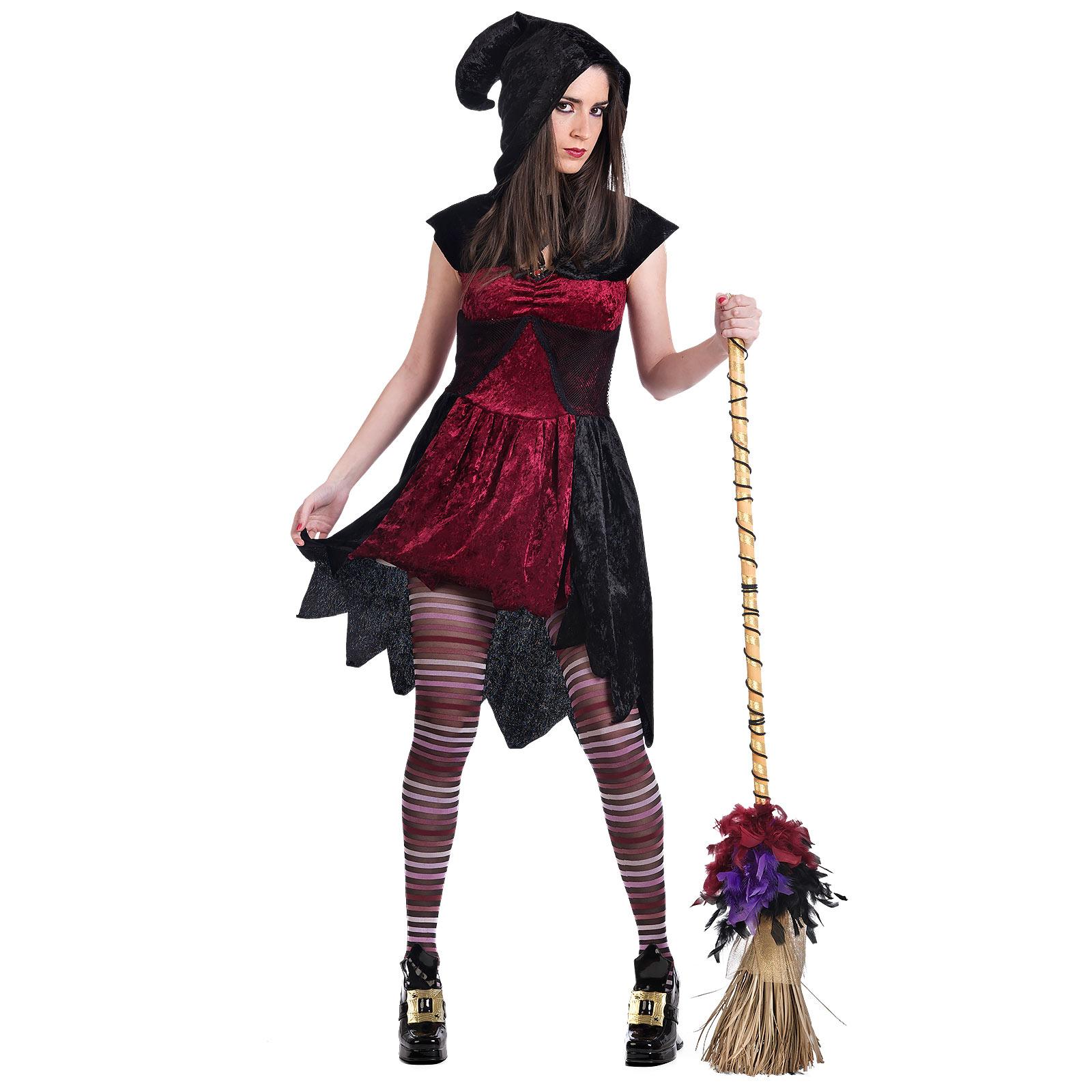 Feuerhexe - Kostüm Damen