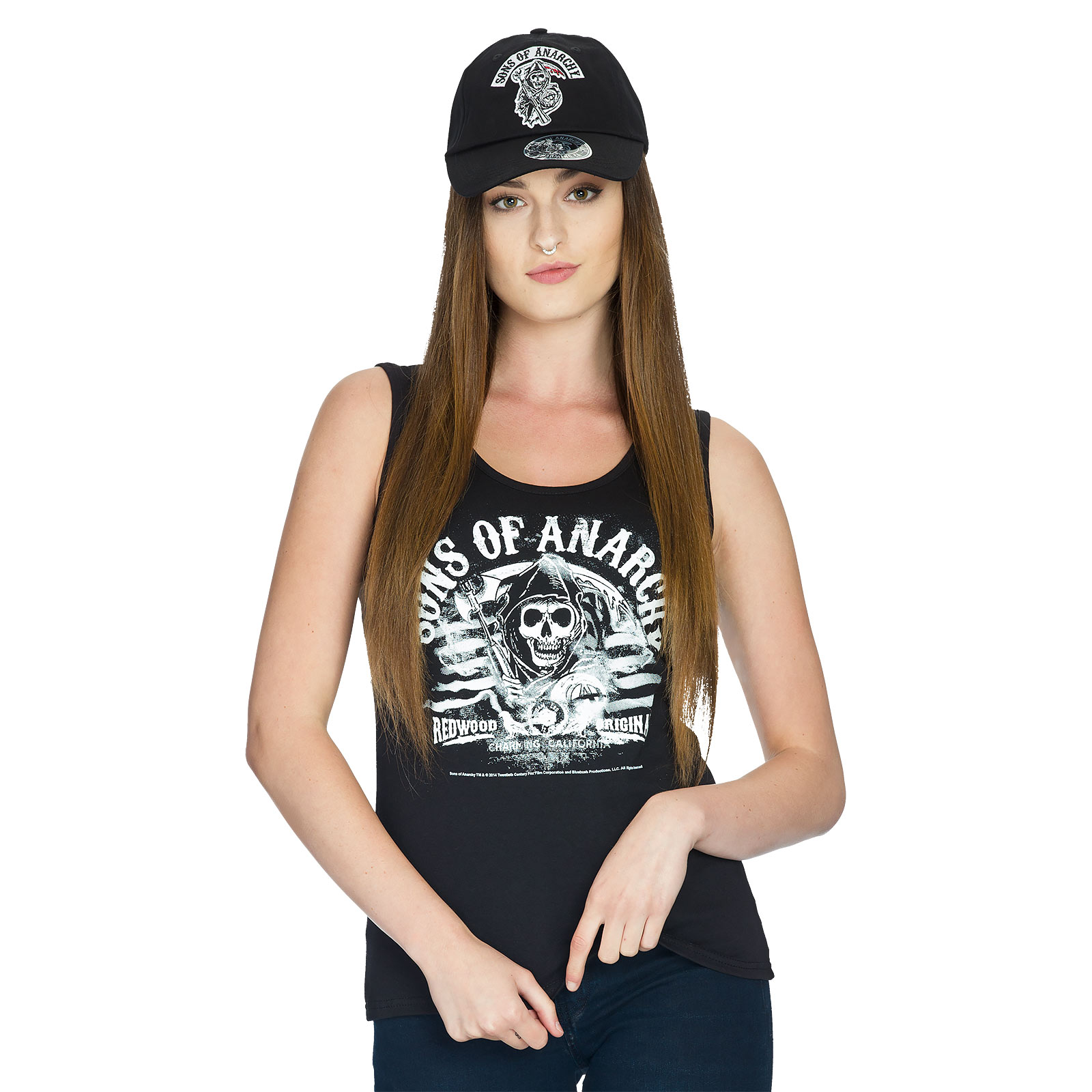 Sons Of Anarchy - Reaper Logo Basecap