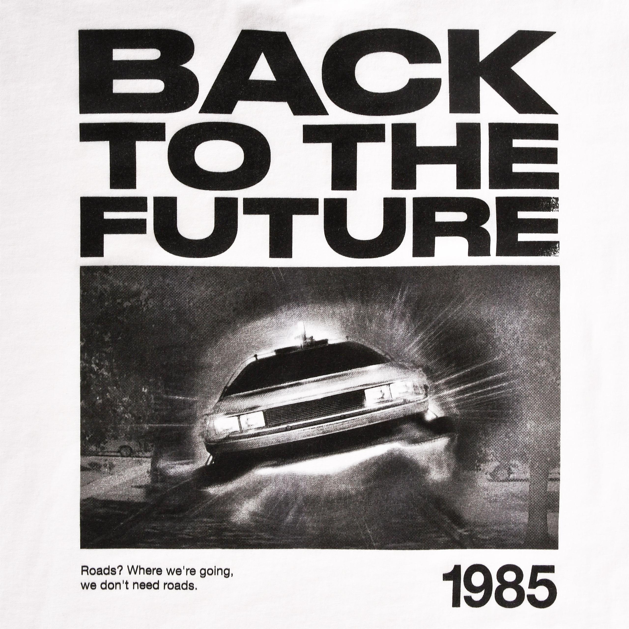 Zurück in die Zukunft - Back to the Future 1985 T-Shirt weiß