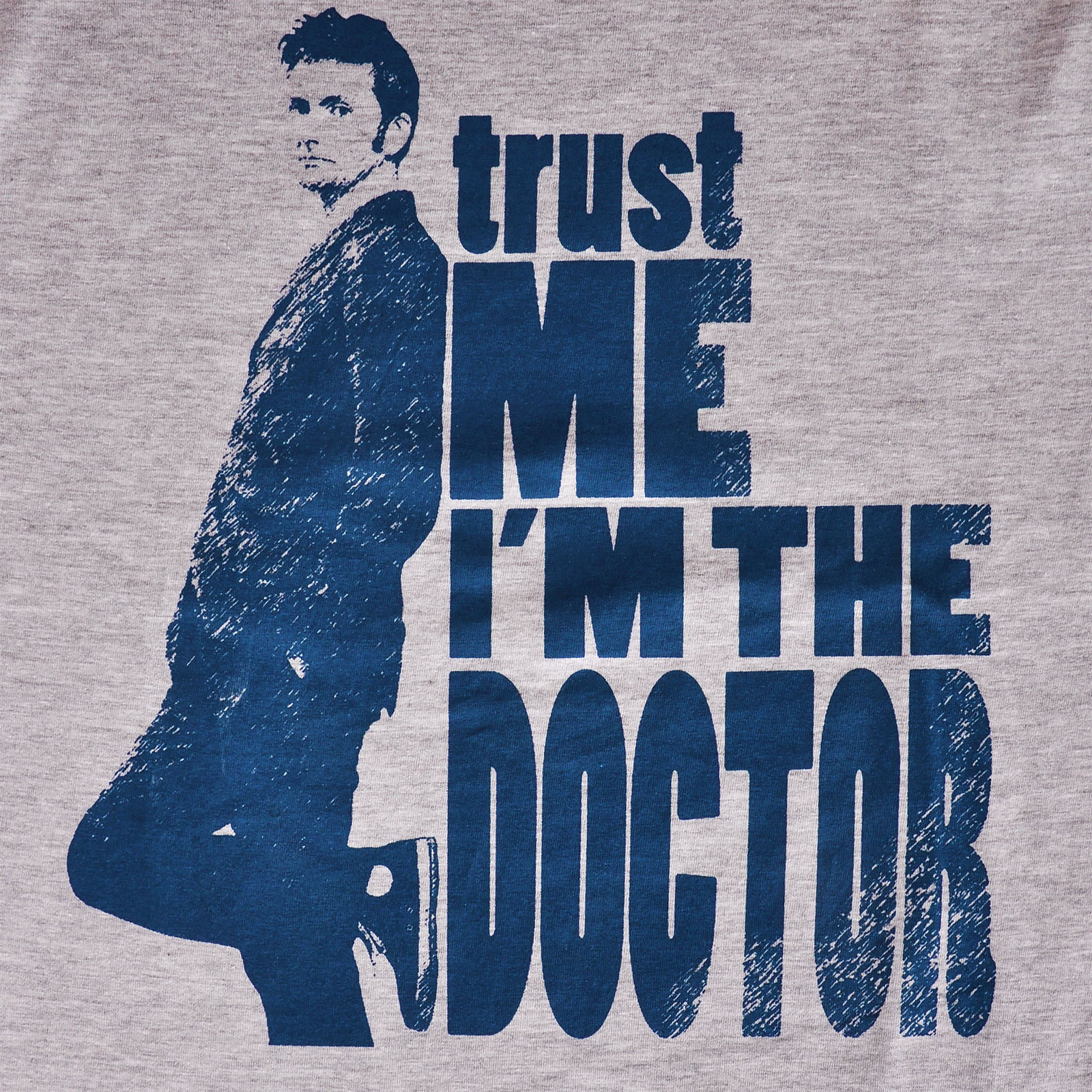 Doctor Who - Trust Me I'm the Doctor T-Shirt grau