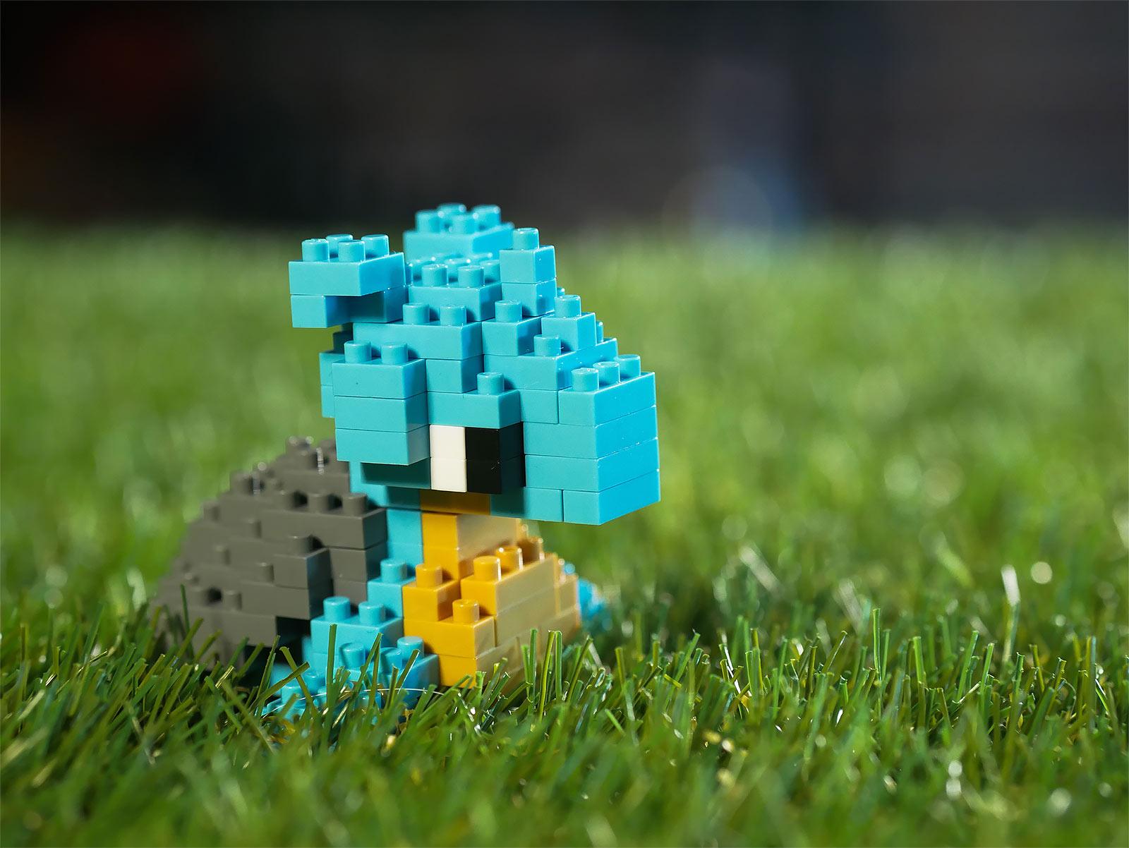 Pokemon - Lapras nanoblock Mini Baustein Figur