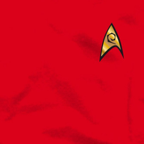 Star Trek - Scotty Uniform T-Shirt rot