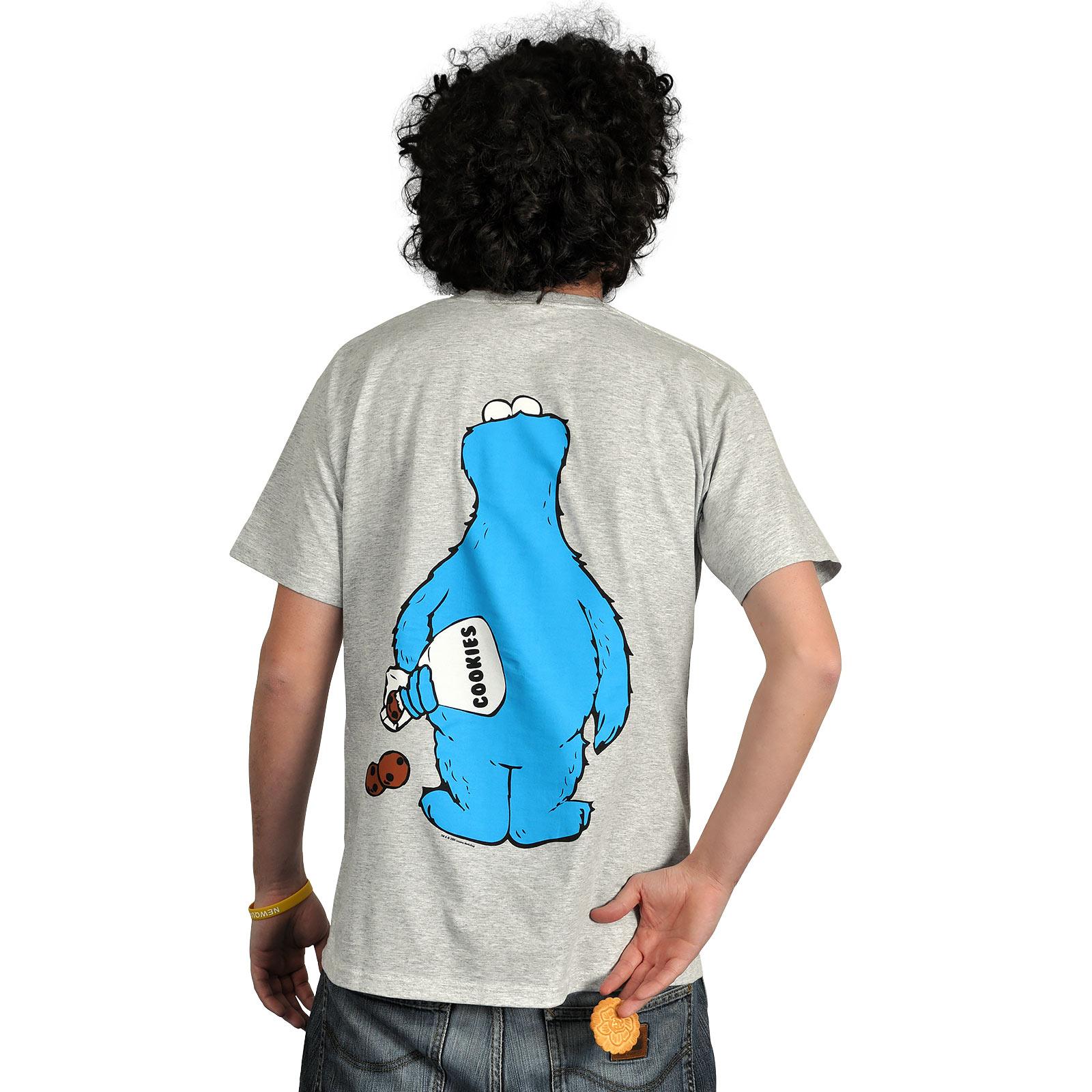 Sesamstraße - Krümelmonster Full Size T-Shirt