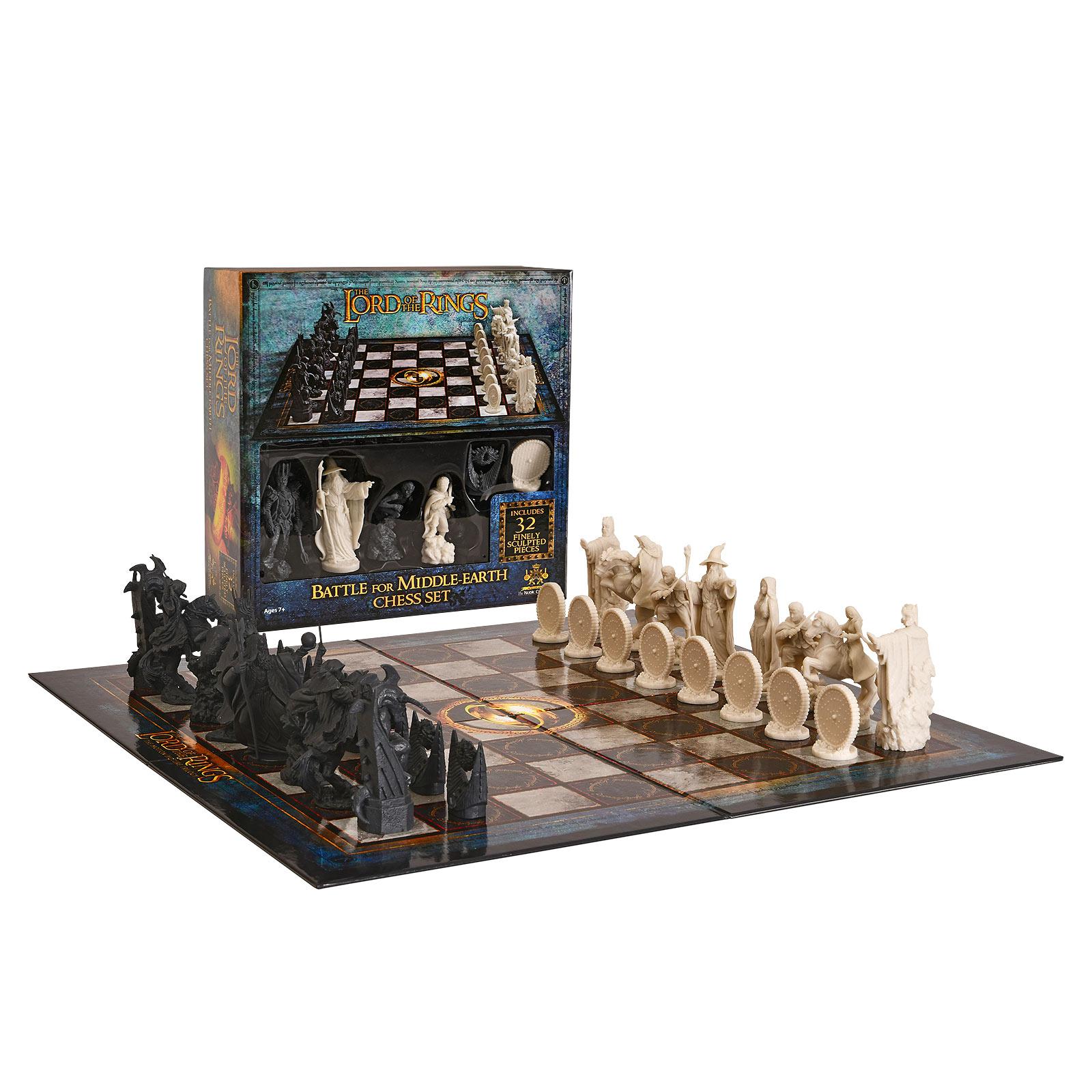 Herr der Ringe - Schlacht um Mittelerde Schachspiel