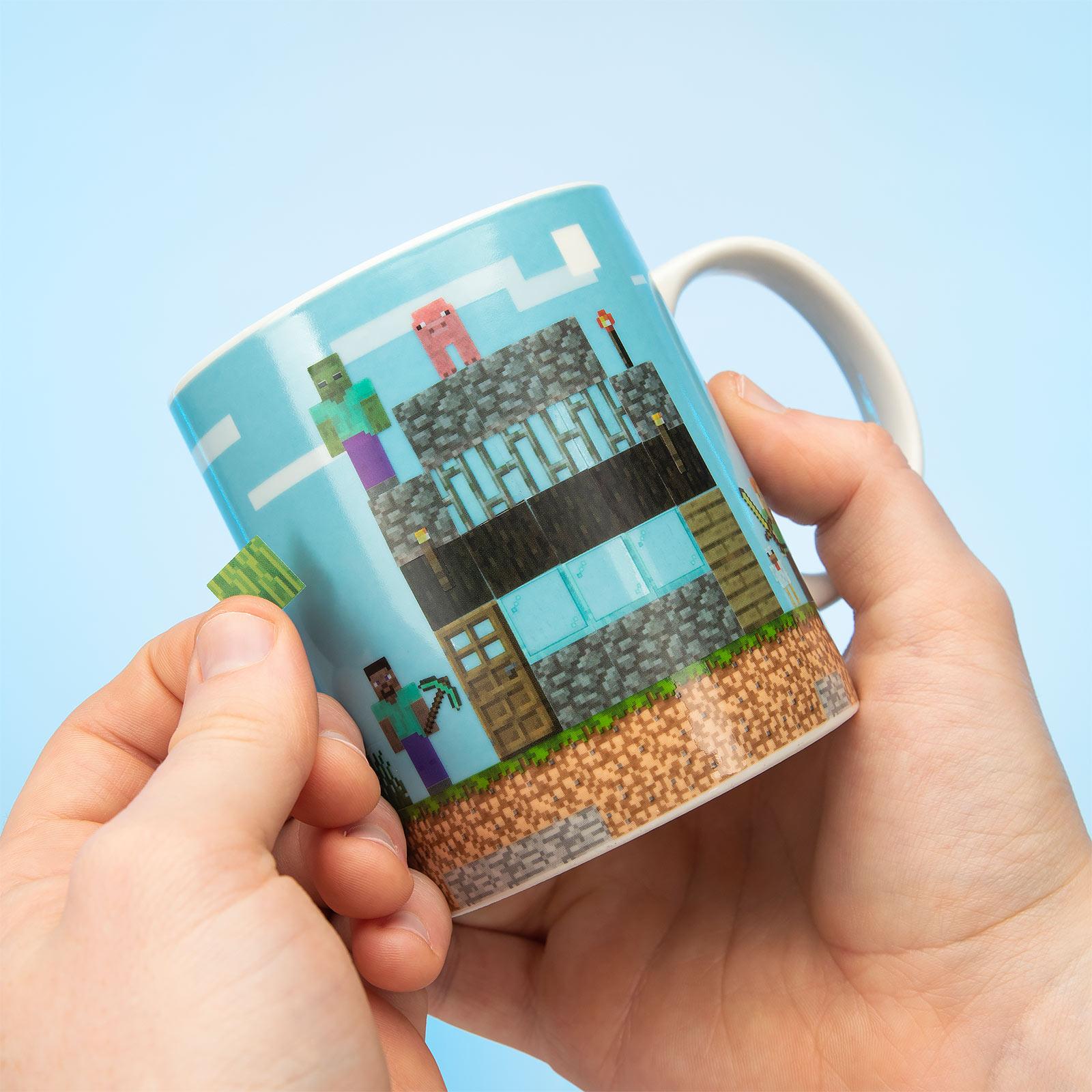 Minecraft - World DIY Tasse