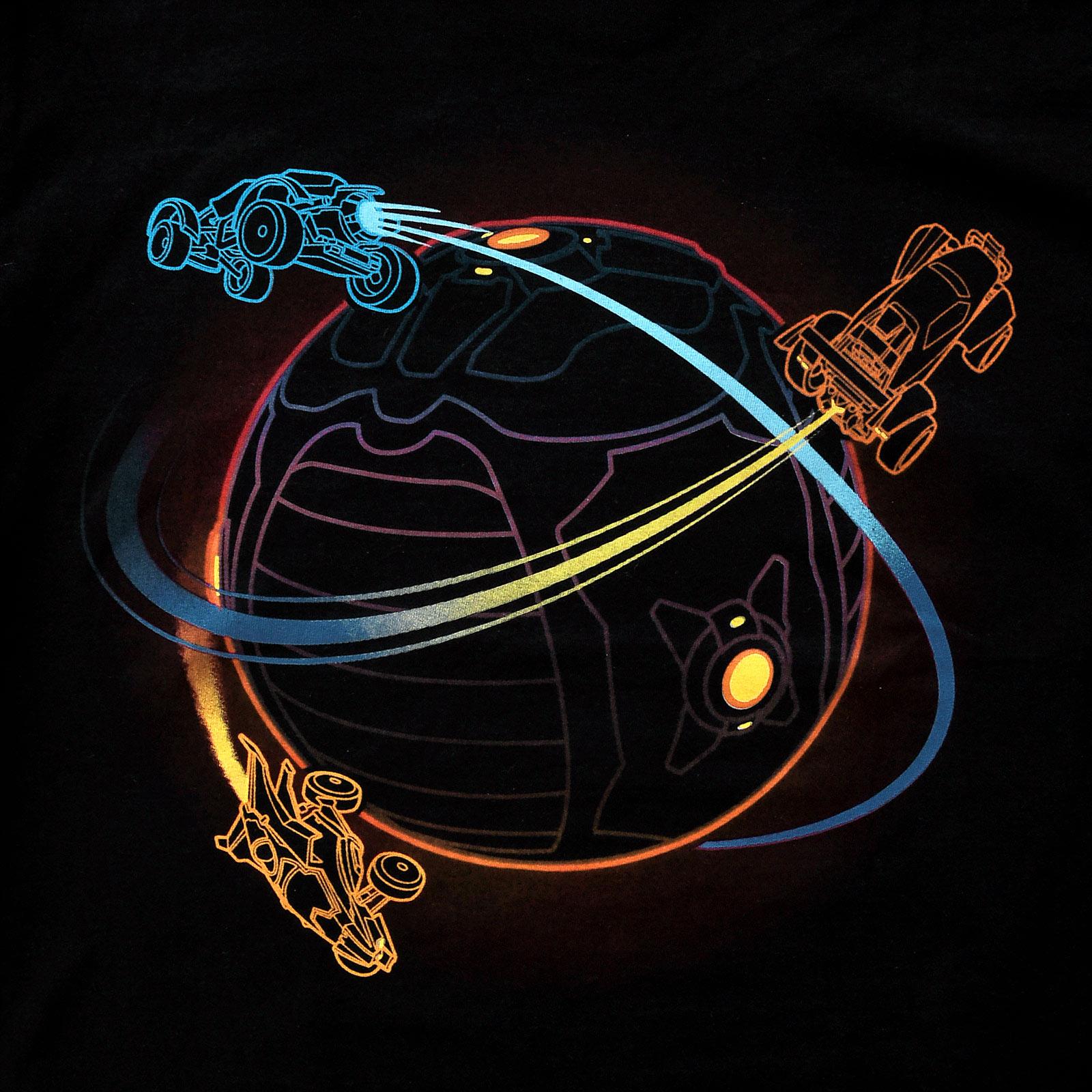 Rocket League - Orbit T-Shirt schwarz