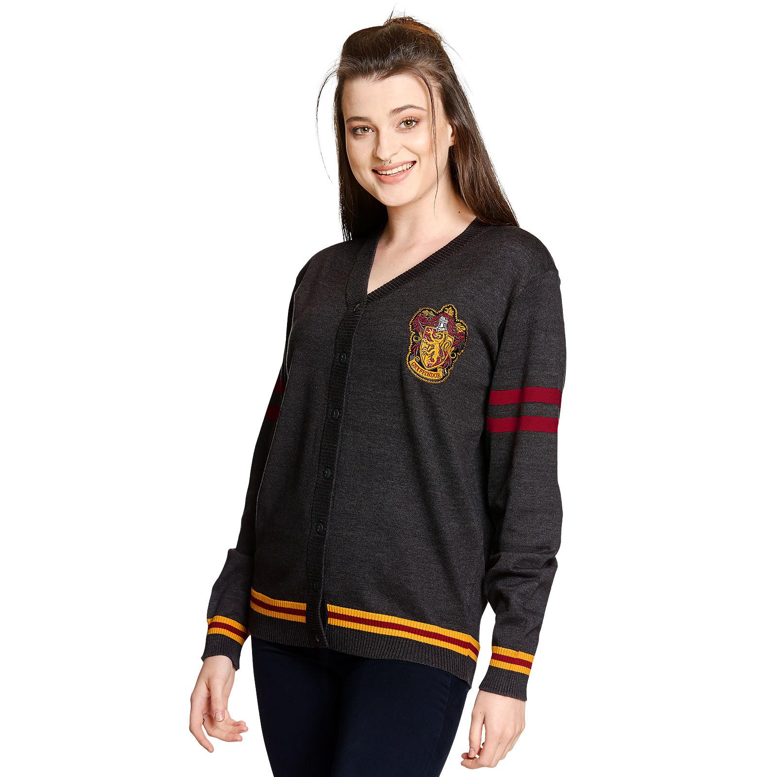 Harry Potter - Gryffindor Cardigan mit Wappen