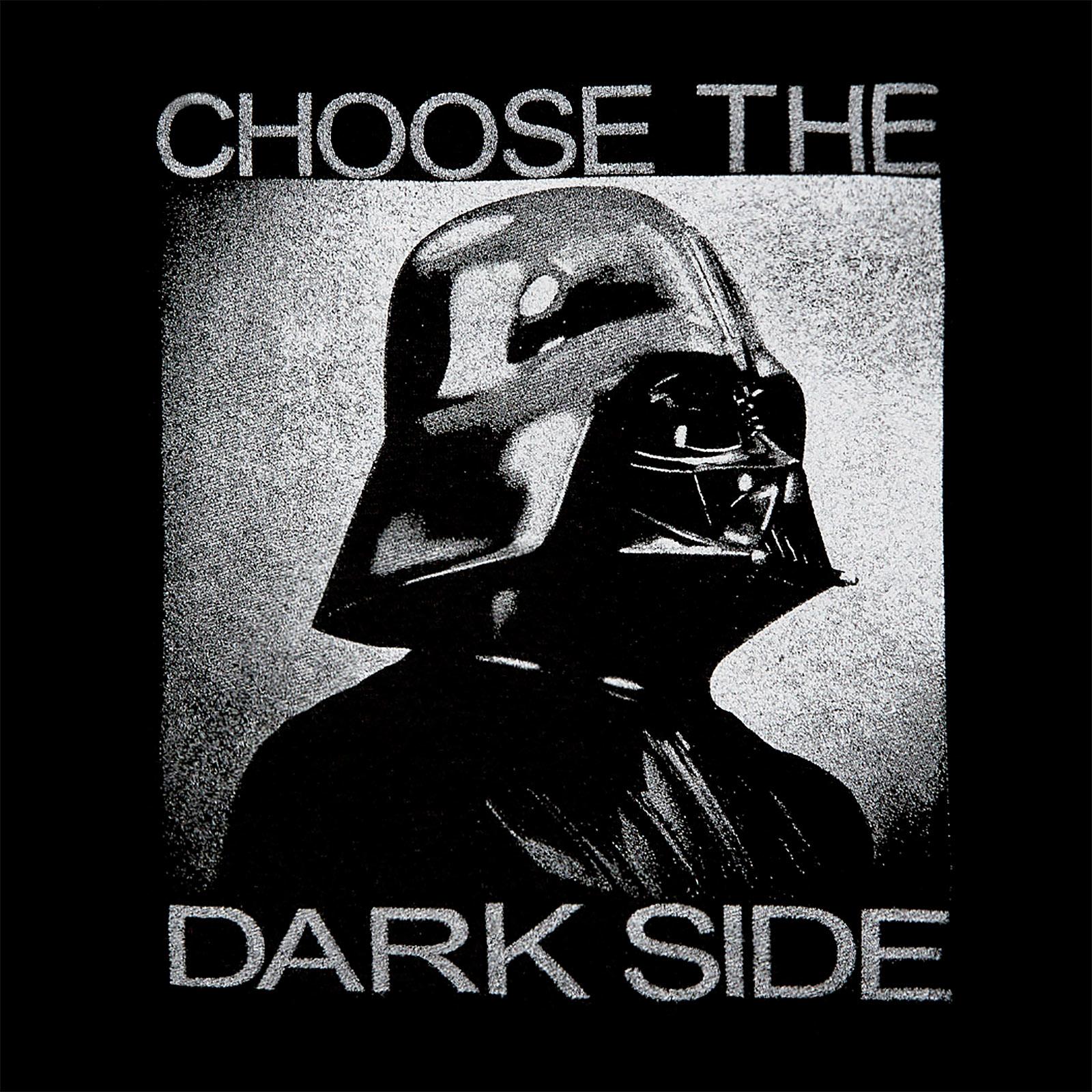 Star Wars - Darth Vader Choose the Dark Side Hoodie schwarz