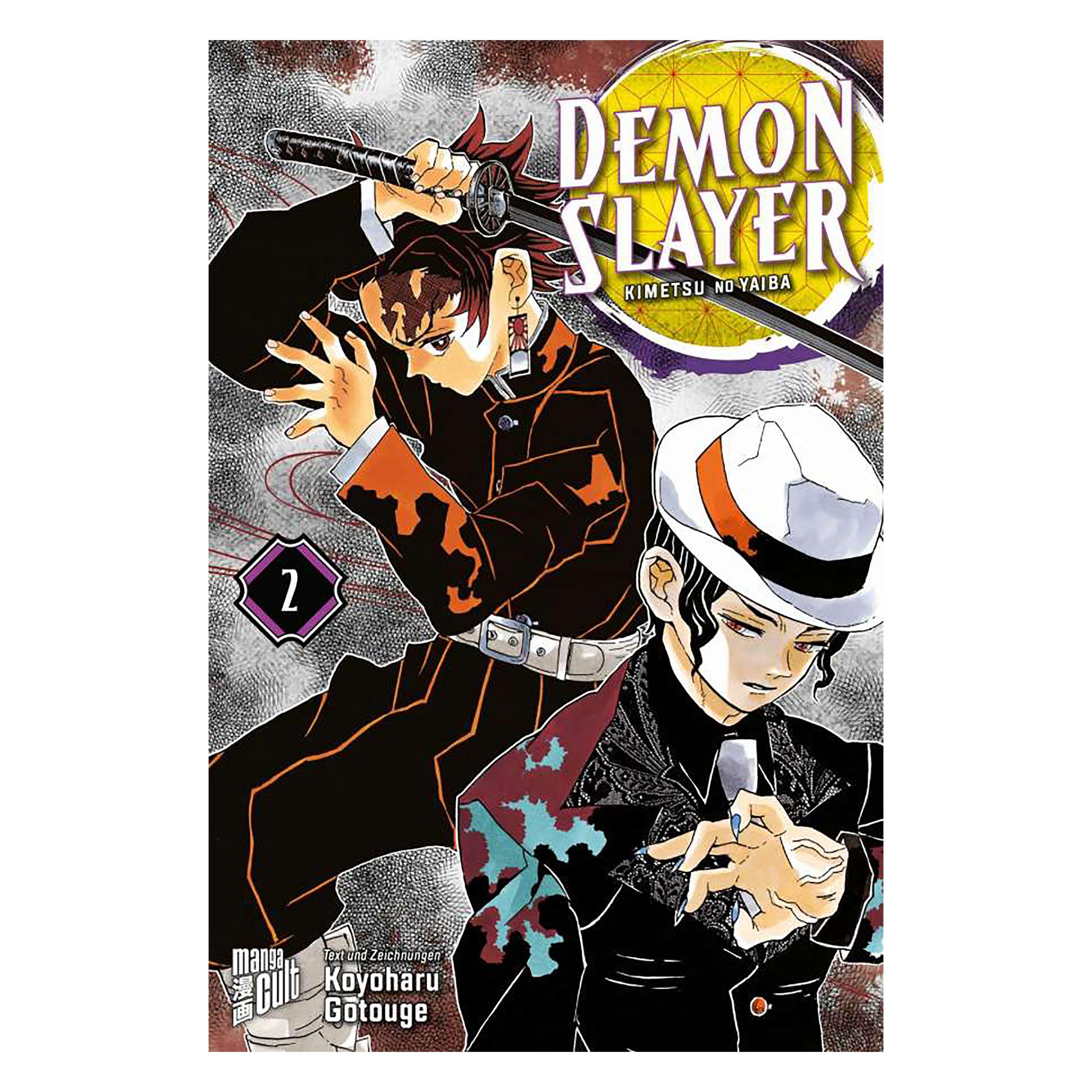 Demon Slayer - Kimetsu no yaiba Band 2 Taschenbuch