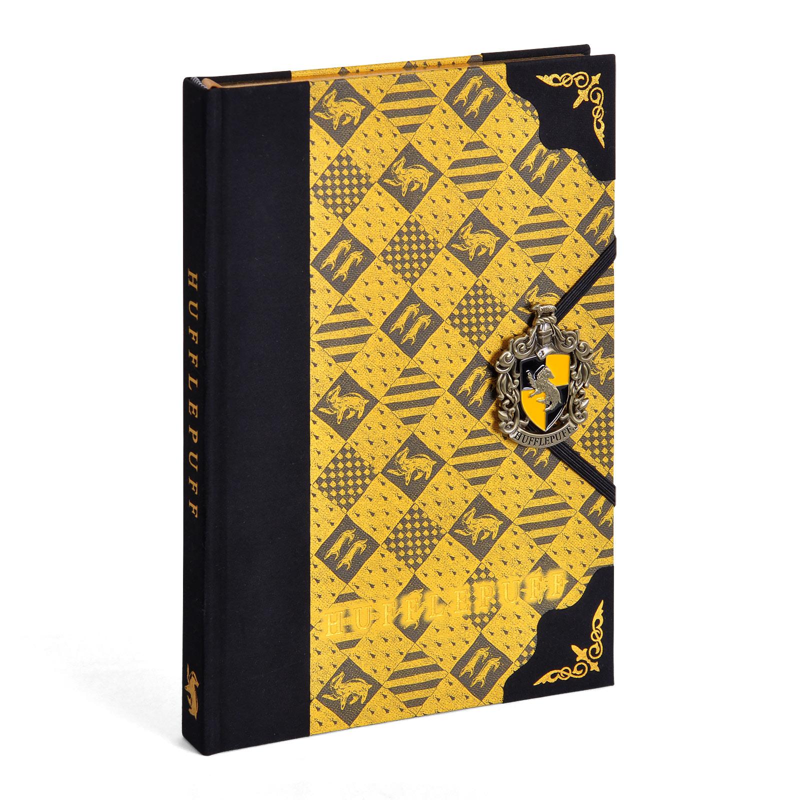 Harry Potter - Hufflepuff Wappen Deluxe Notizbuch