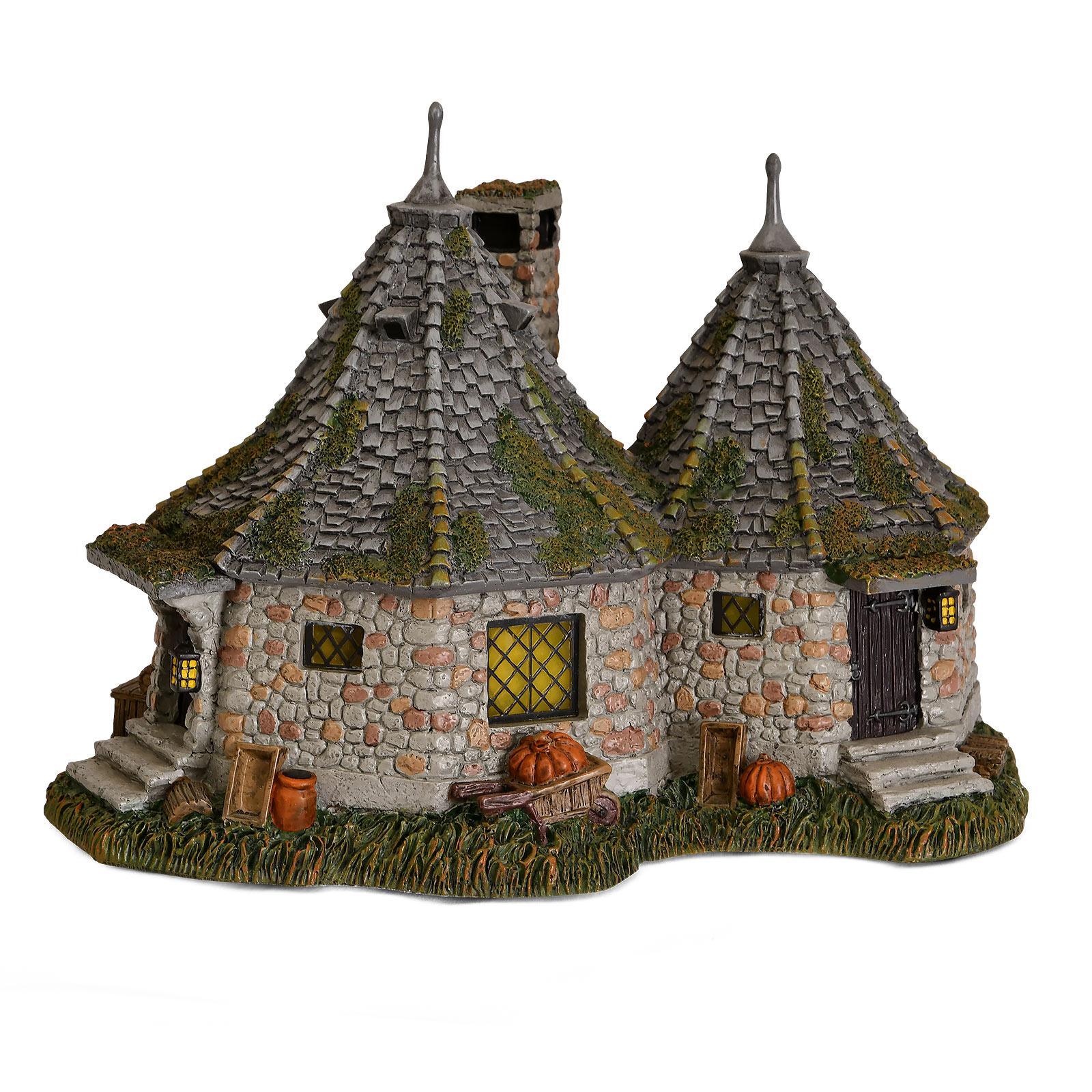 Hagrids Hütte Miniatur Replik mit Beleuchtung - Harry Potter