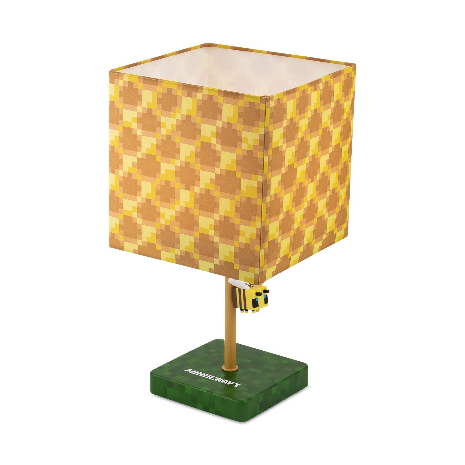 Minecraft - Biene Tischlampe