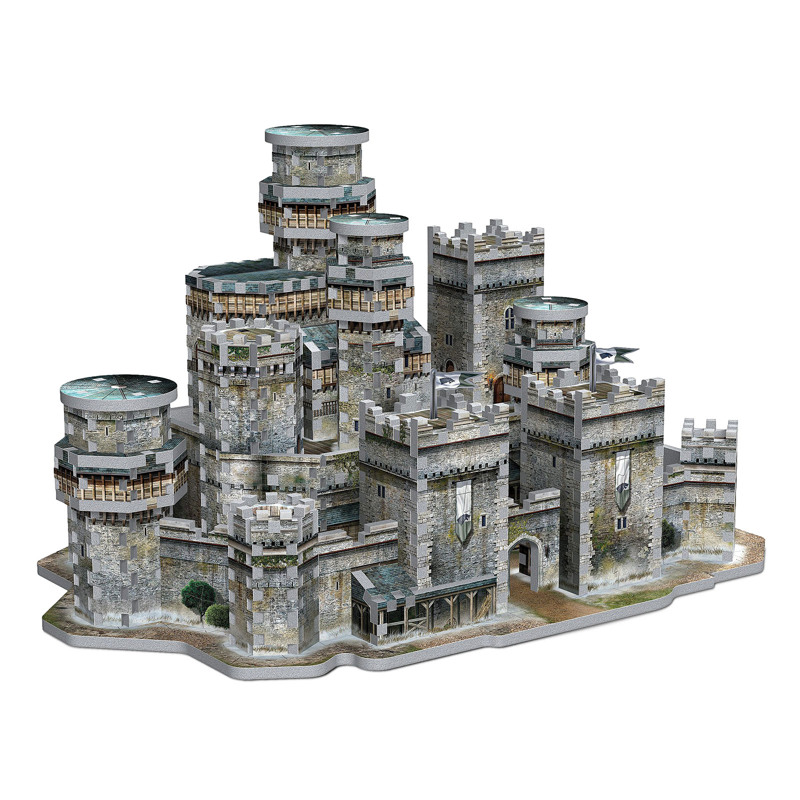 Game of Thrones - Winterfell 3D Puzzle