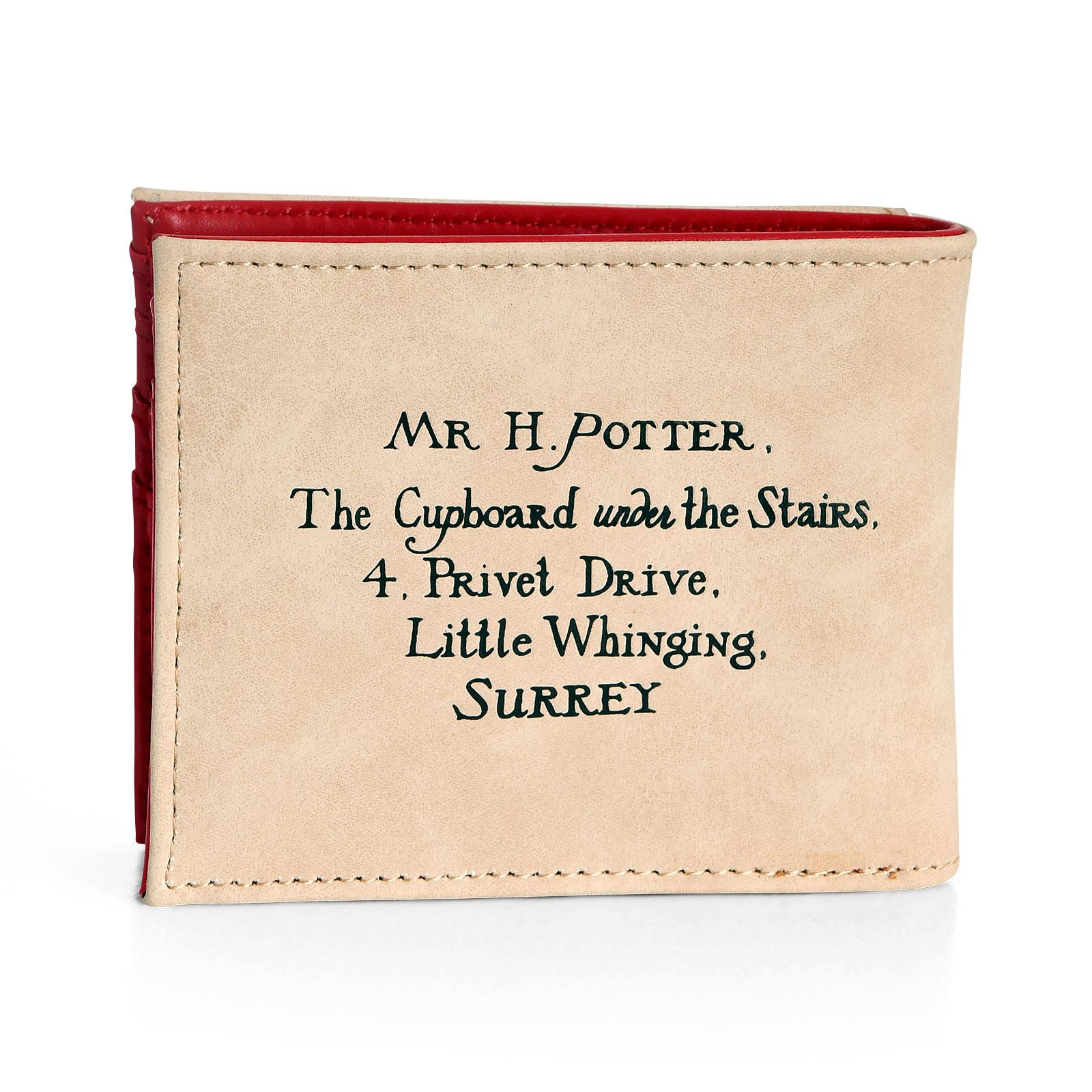 Hogwarts Brief Geldbörse - Harry Potter