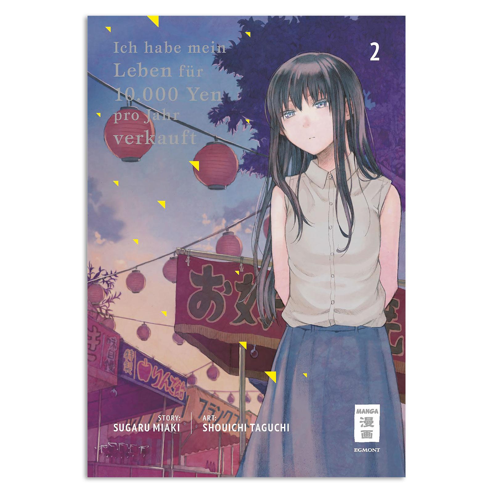Ich habe mein Leben für 10.000 Yen pro Jahr verkauft - Band 2 Taschenbuch