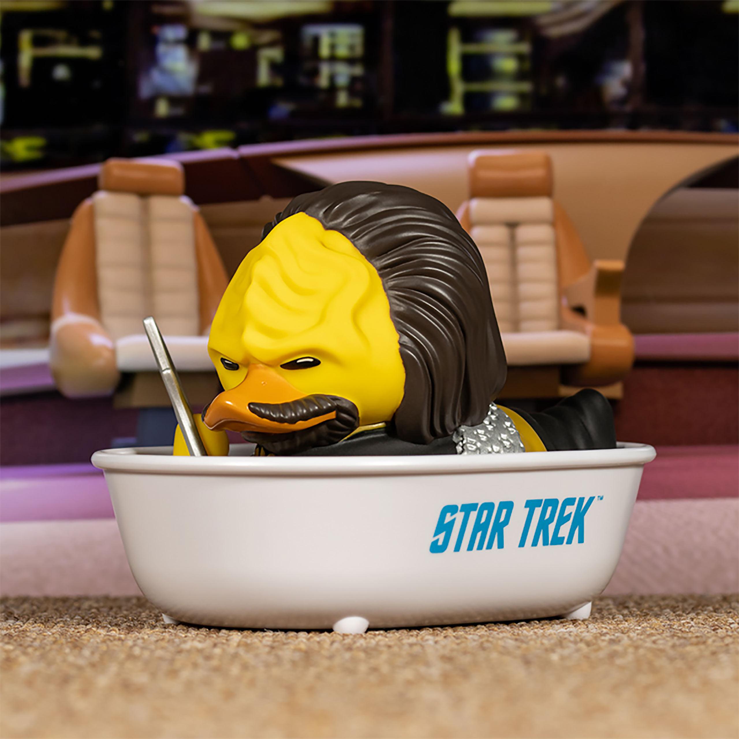 Star Trek - Lieutenant Worf TUBBZ Deko Ente
