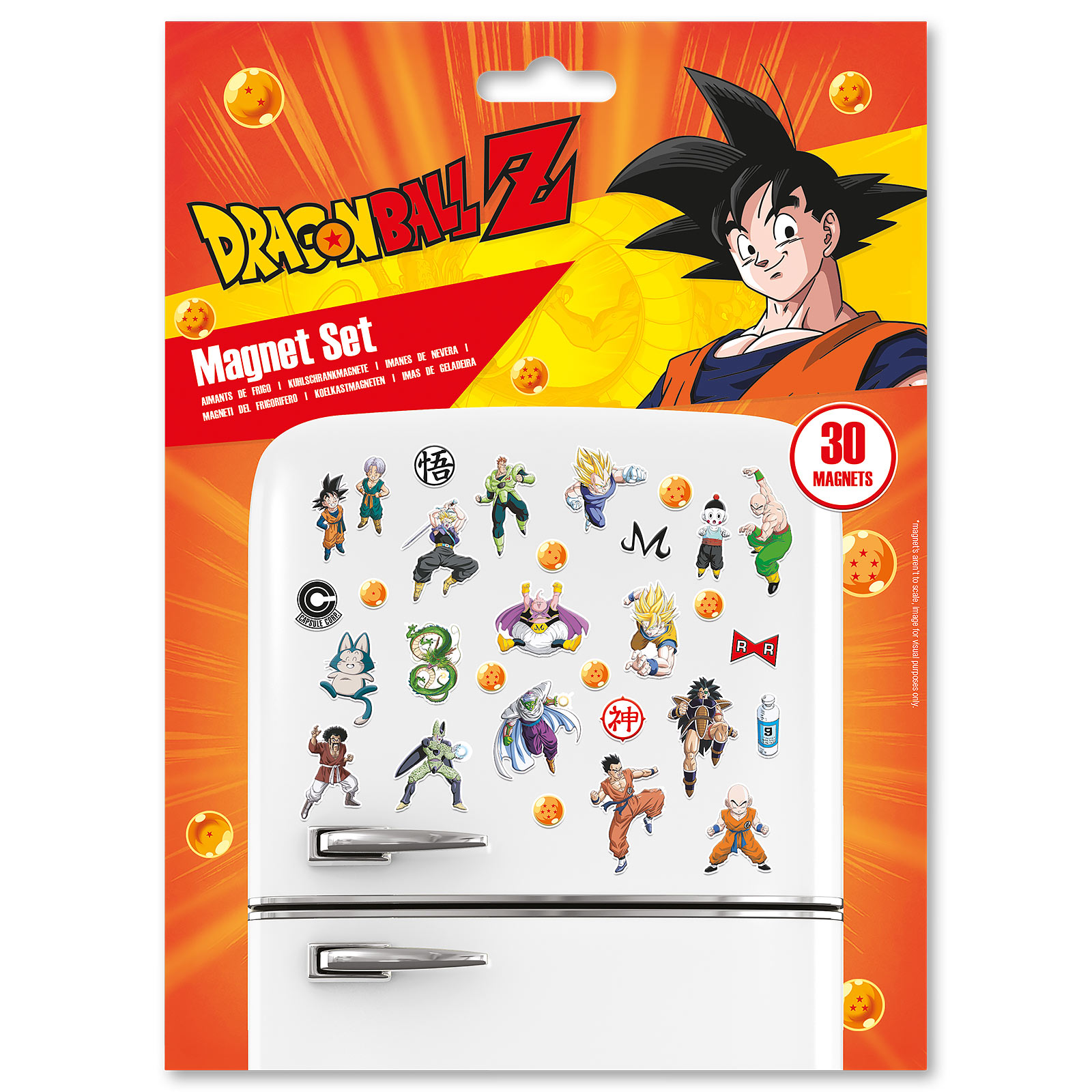 Dragon Ball Z - Characters Magnet-Set