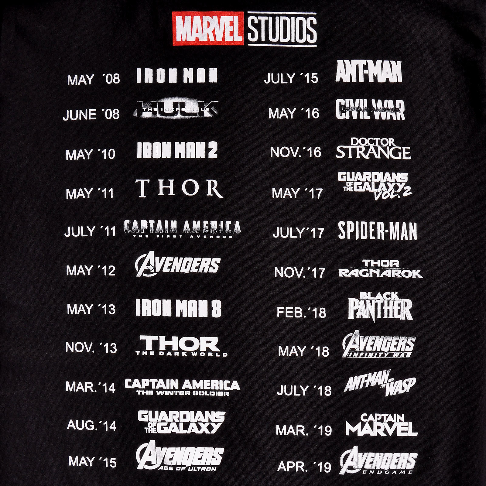 Marvel - More Than a Fan T-Shirt schwarz