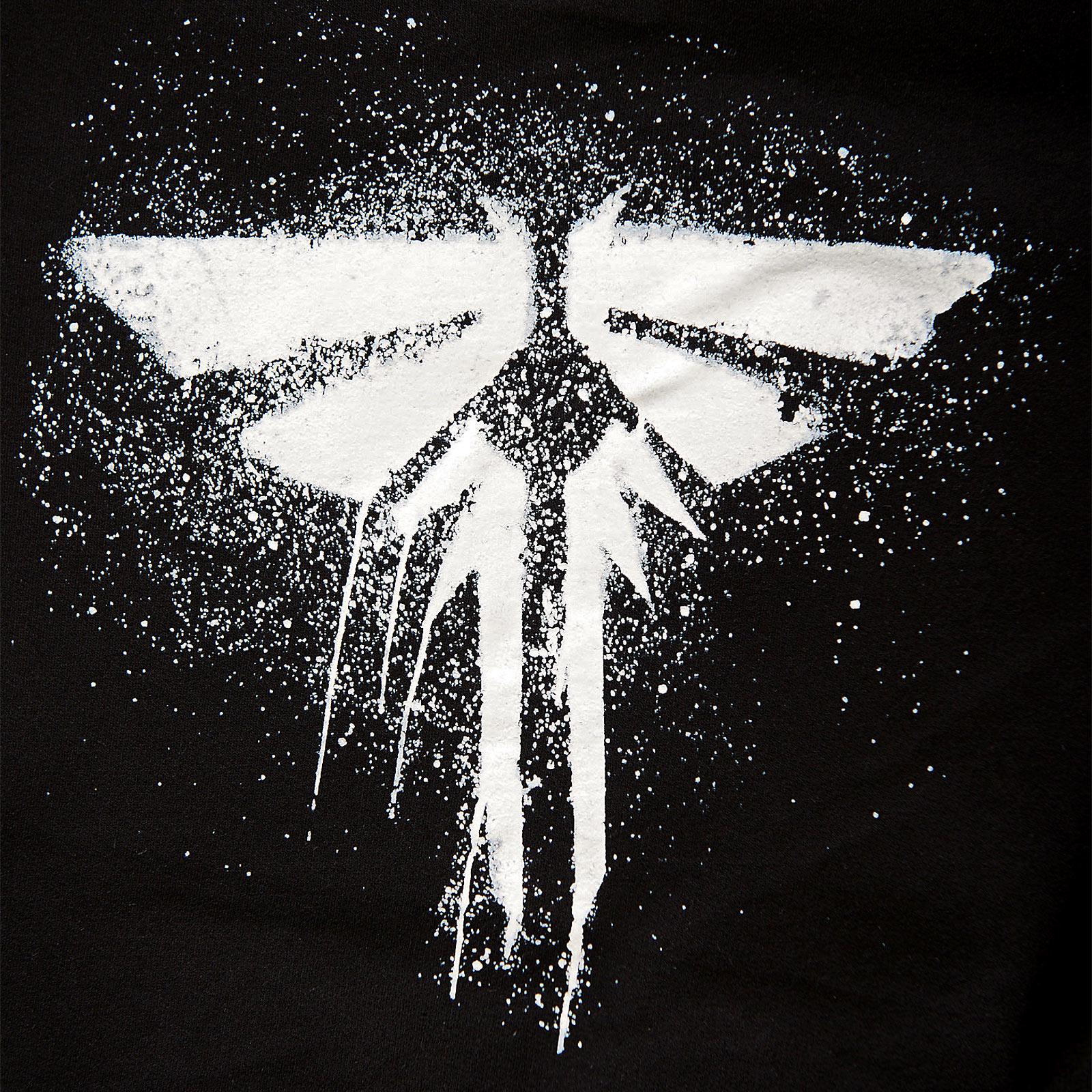 The Last of Us - Fireflies Logo Kapuzenjacke schwarz