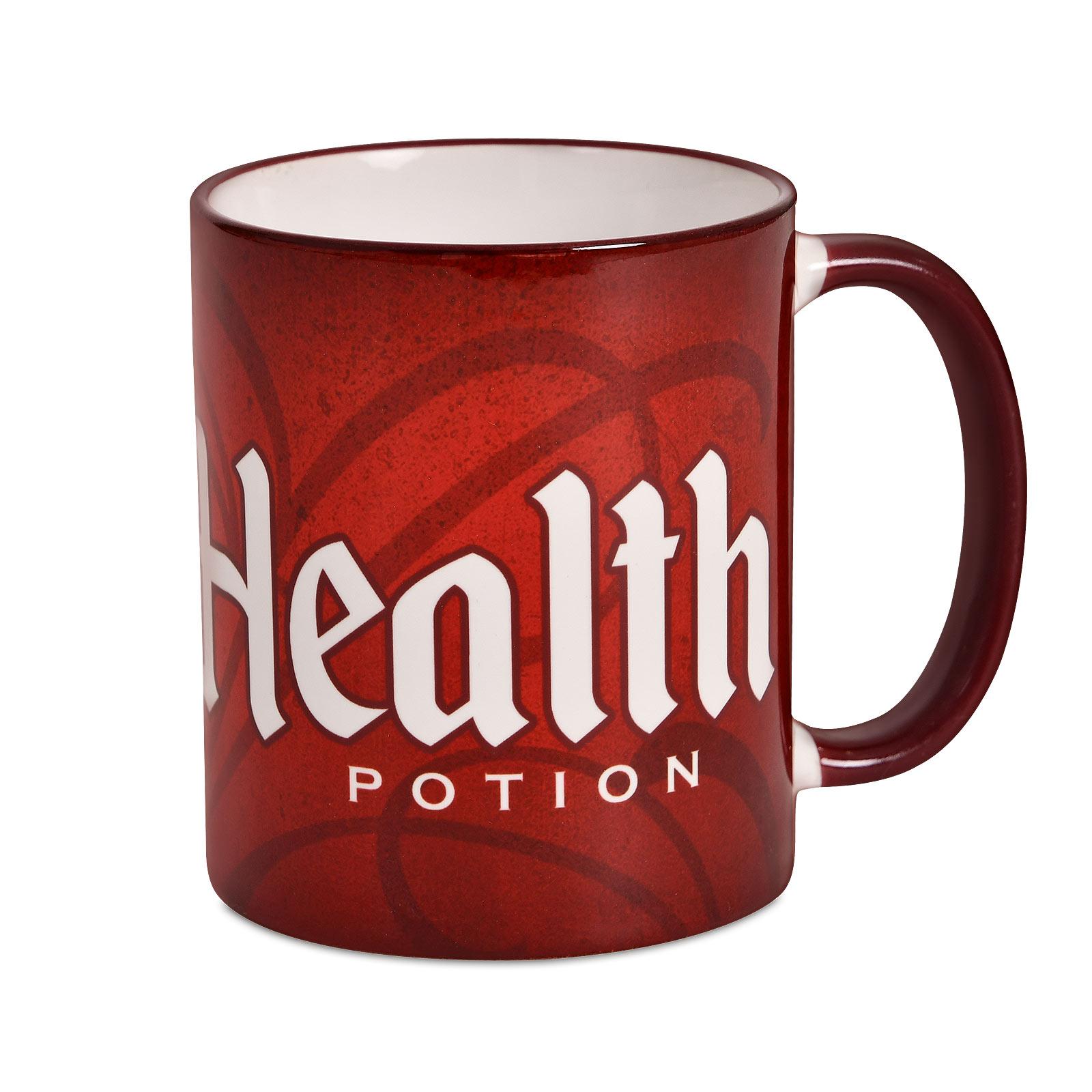 Health Potion Tasse für Gaming Fans