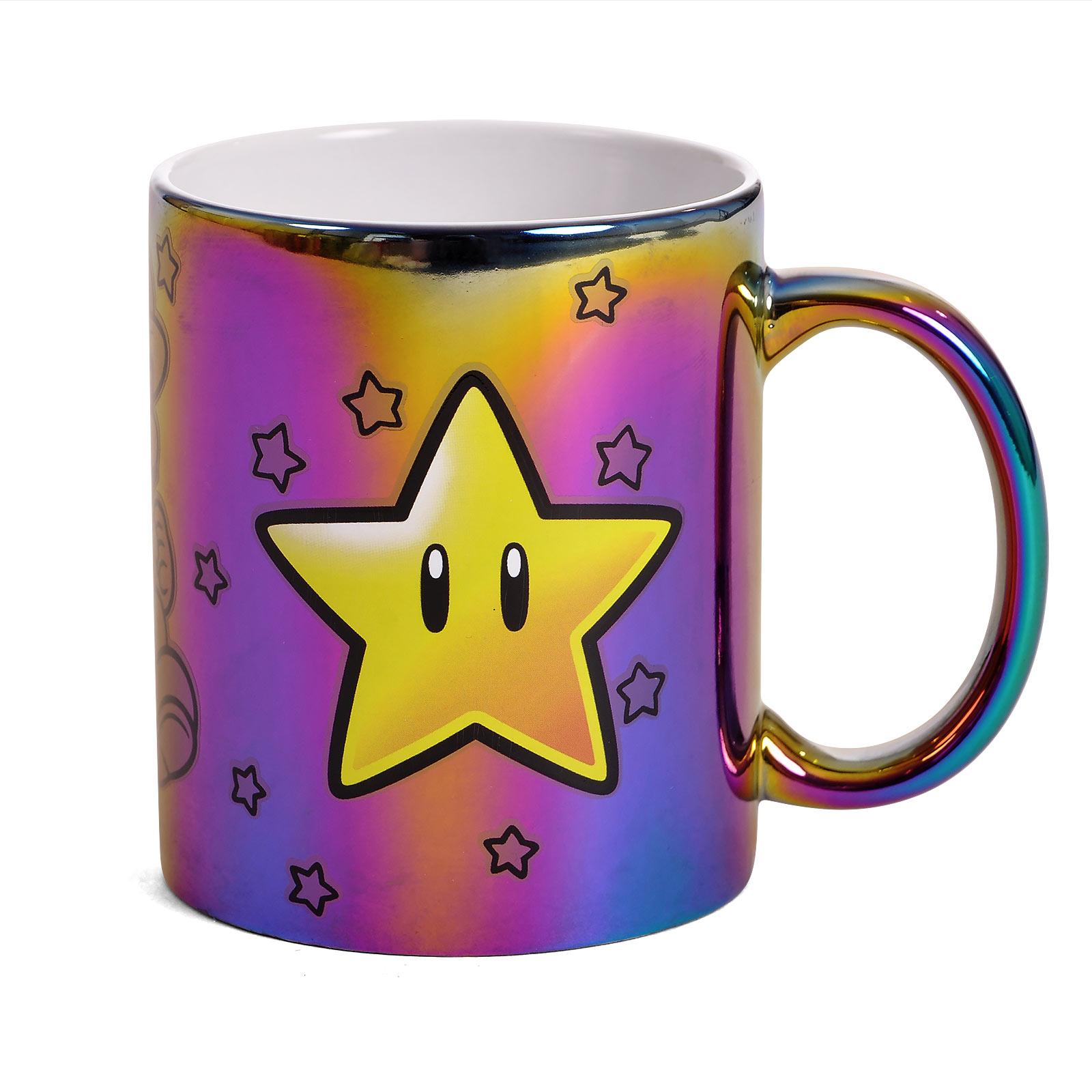 Super Mario - Star Power Metallic Tasse