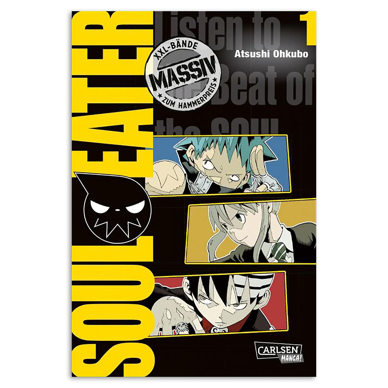 Soul Eater - Sammelband 1 Taschenbuch