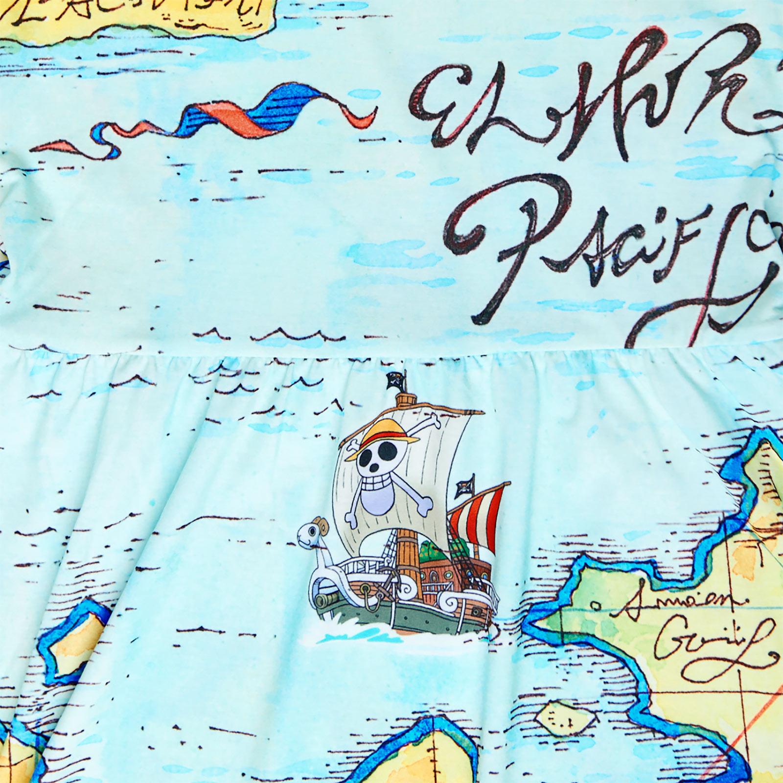 One Piece - East Blue Map Minikleid