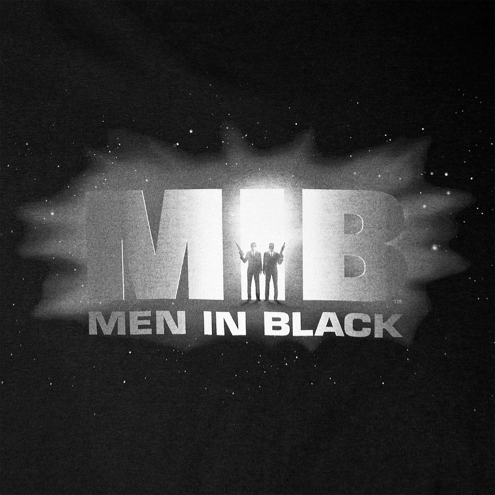 Men in Black - Logo T-Shirt schwarz