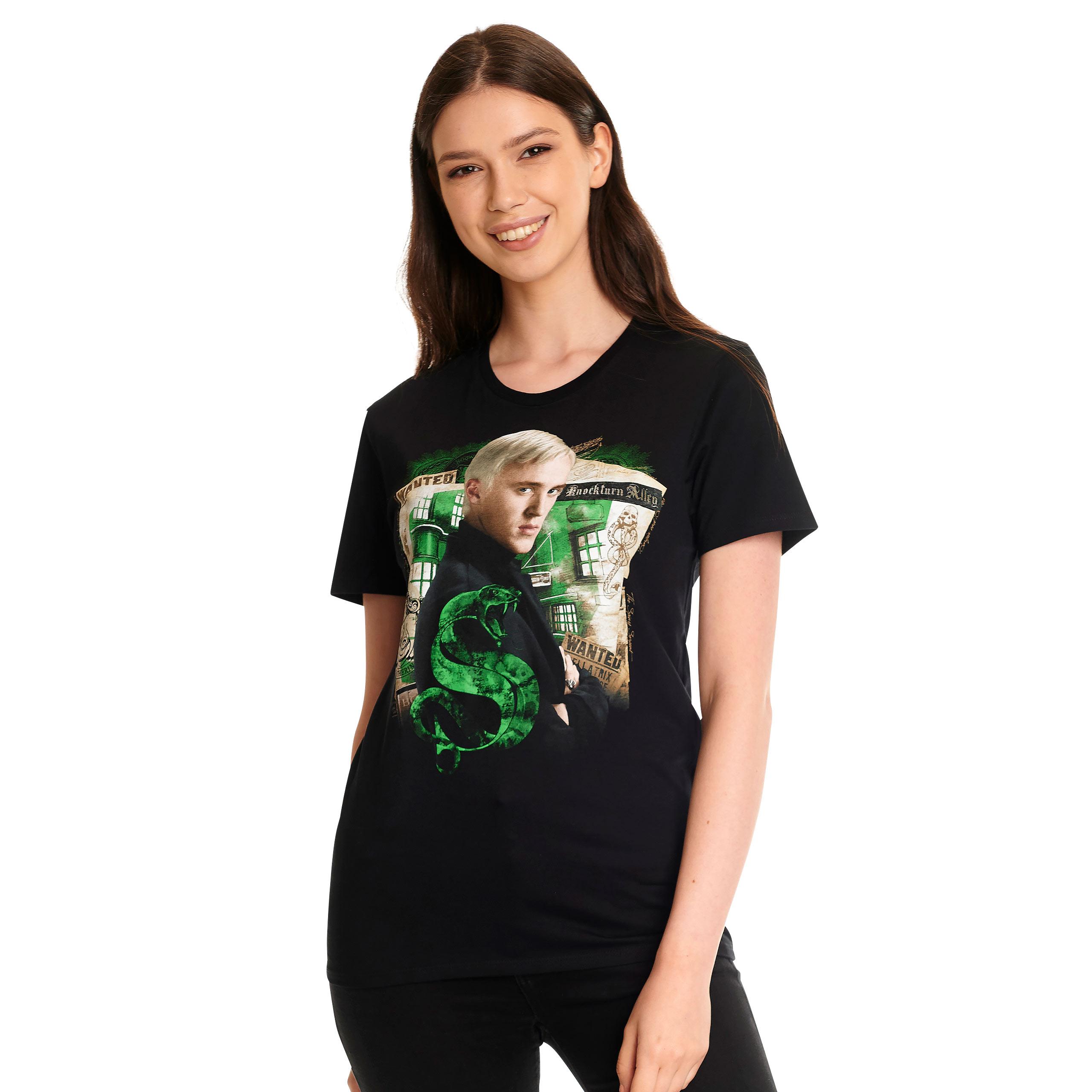 Harry Potter - Draco Malfoy T-Shirt schwarz