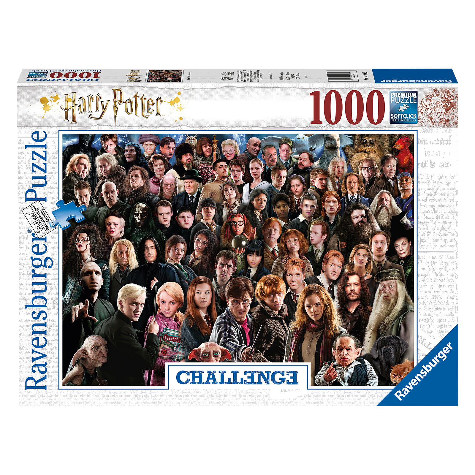 Harry Potter - Characters Challenge Puzzle