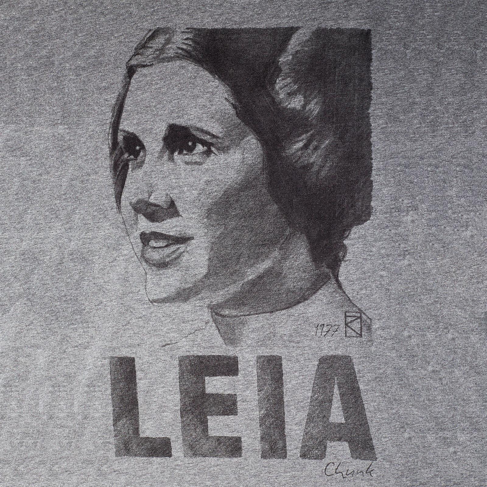 Star Wars - Leia Sketch T-Shirt grau