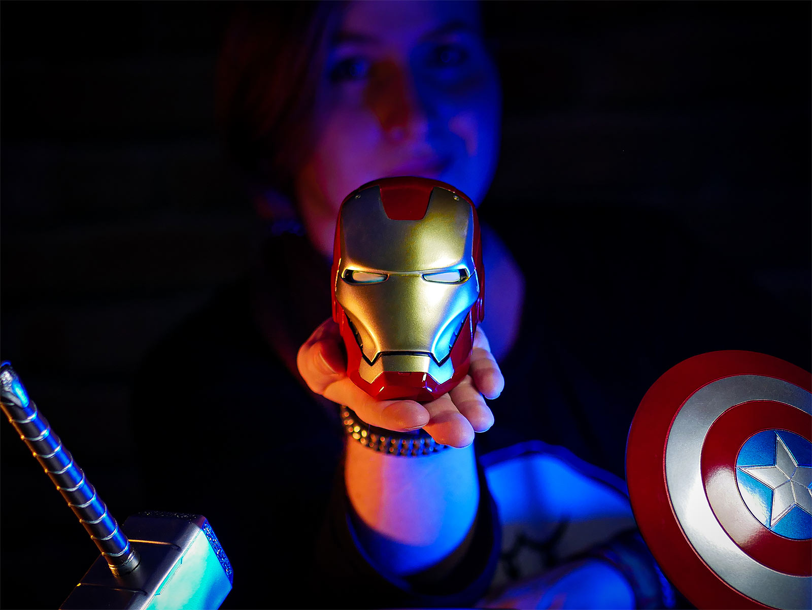 Iron Man - Mark VII Helm Replik Marvel Museum Collection