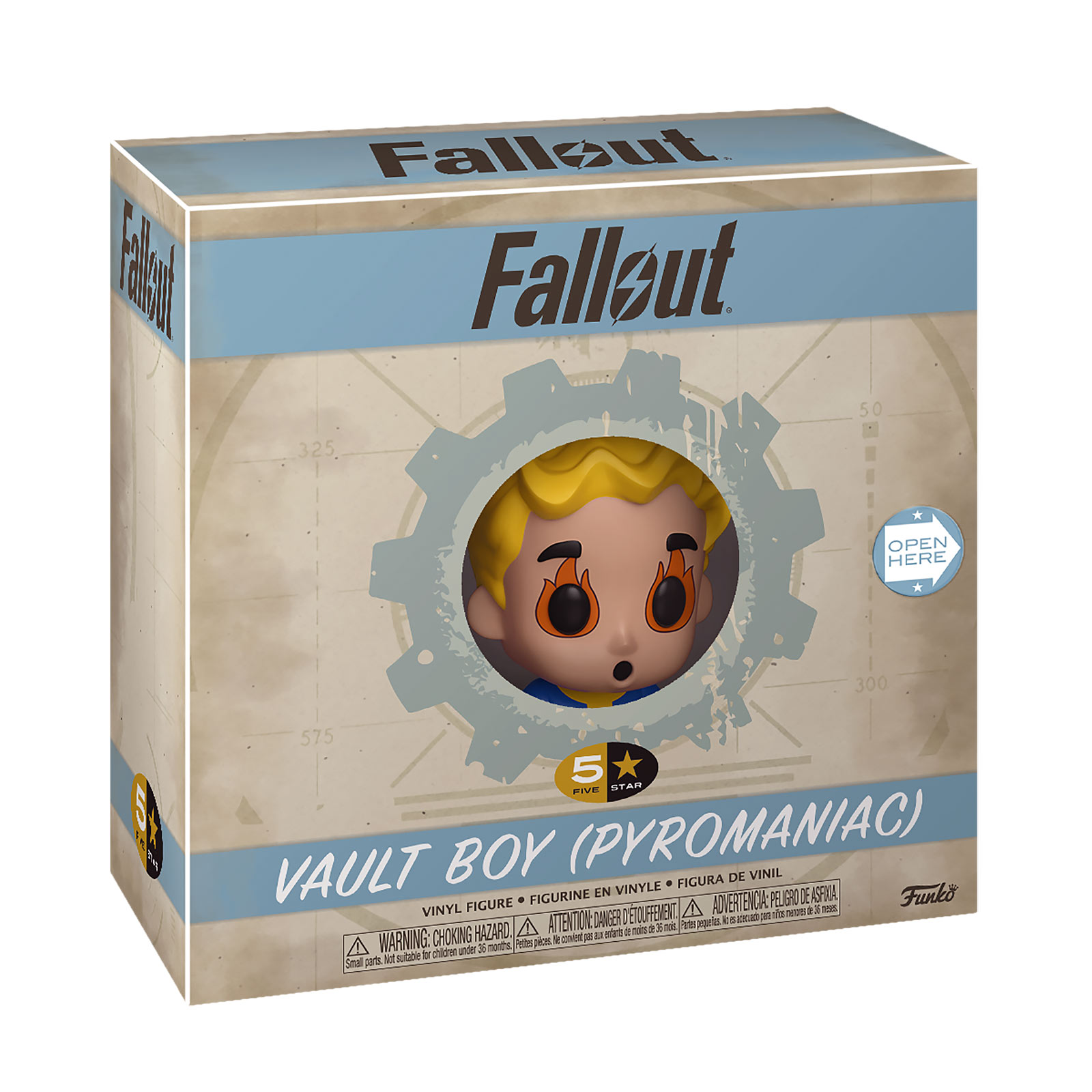 Fallout - Vault Boy Pyromaniac Funko Five Star Figur