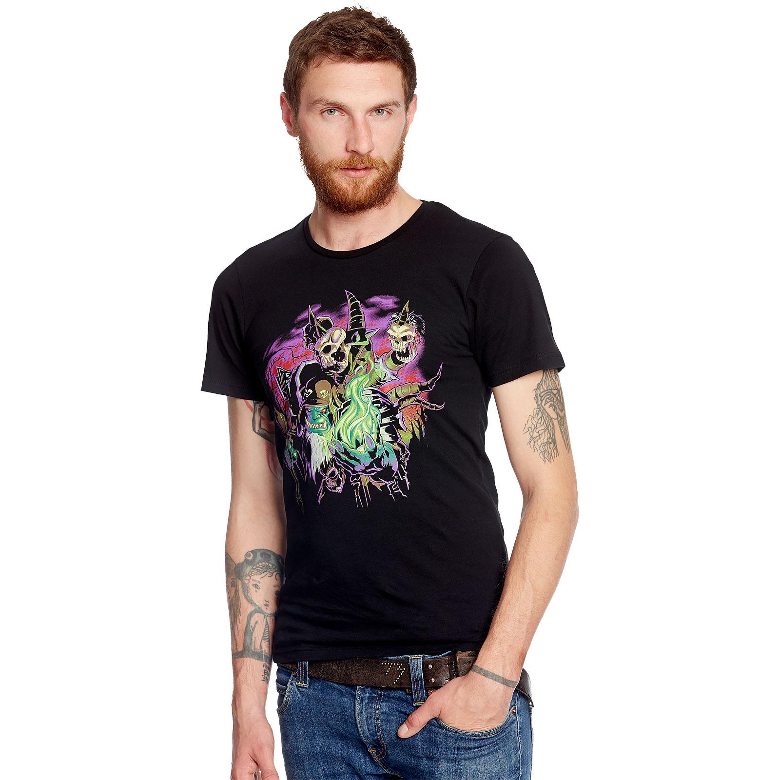 World Of Warcraft - Guldan T-Shirt schwarz