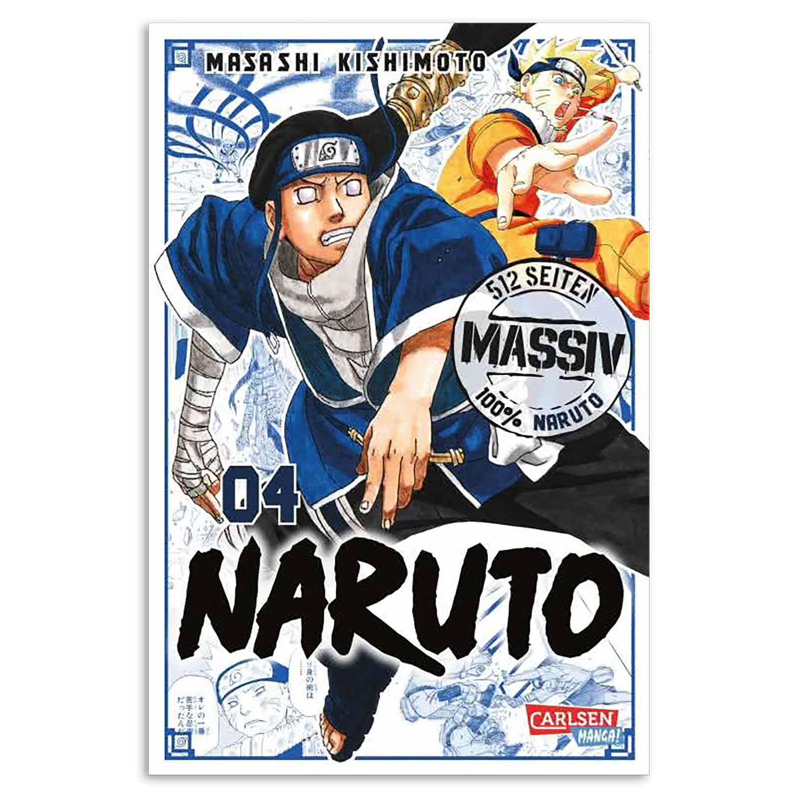 Naruto - Sammelband 4 Taschenbuch