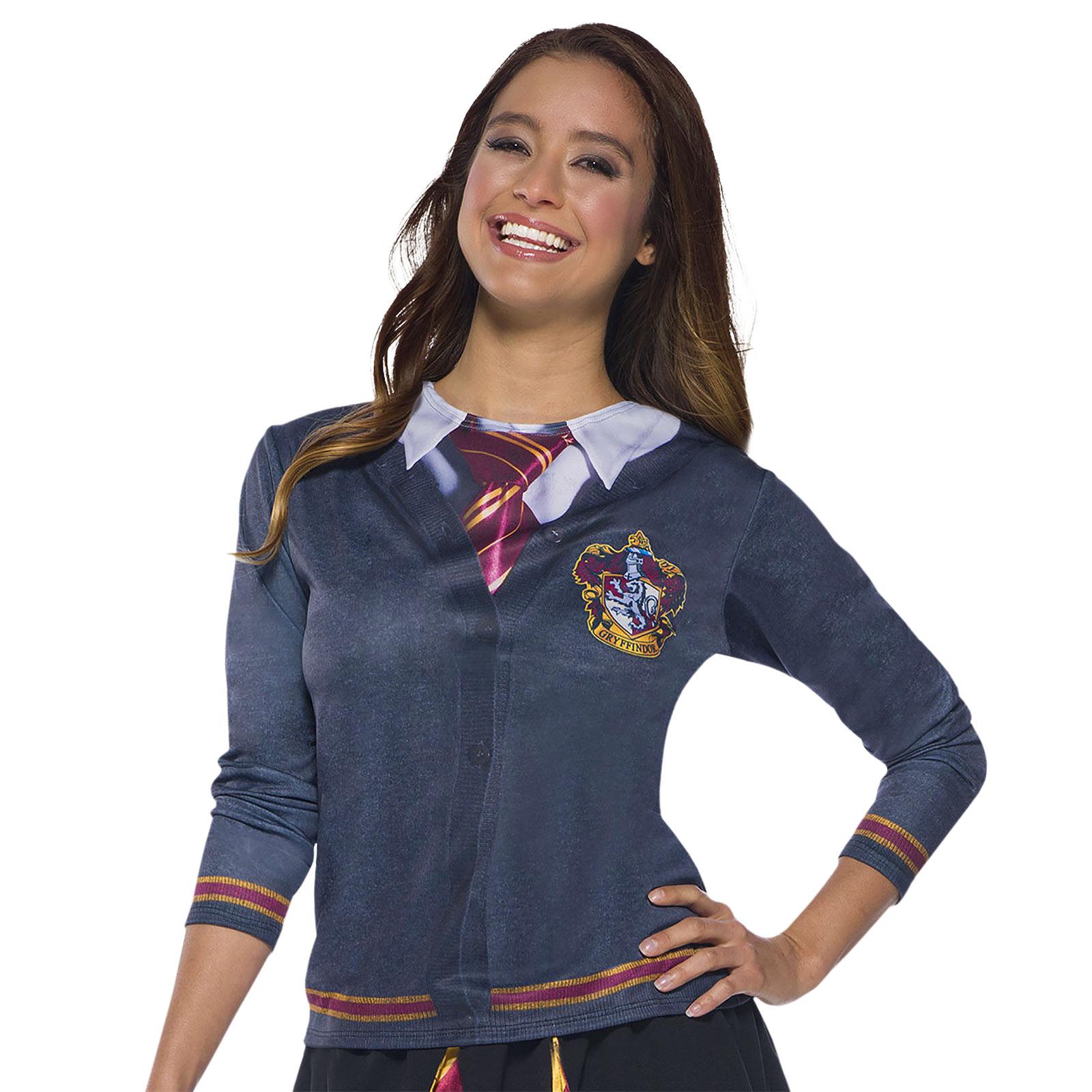 Harry Potter - Gryffindor College Kostüm Shirt Damen