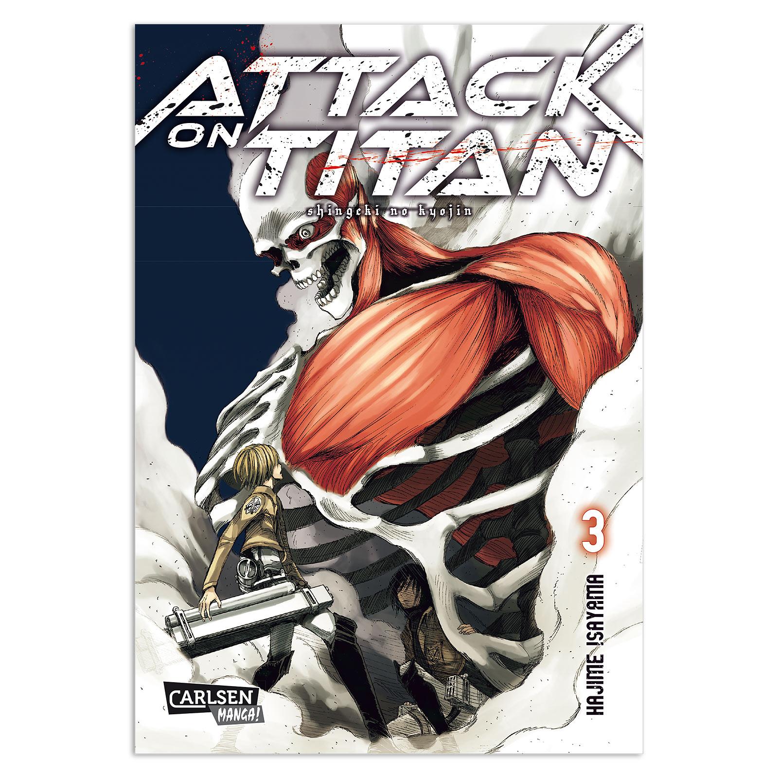 Attack on Titan - Band 3 Taschenbuch