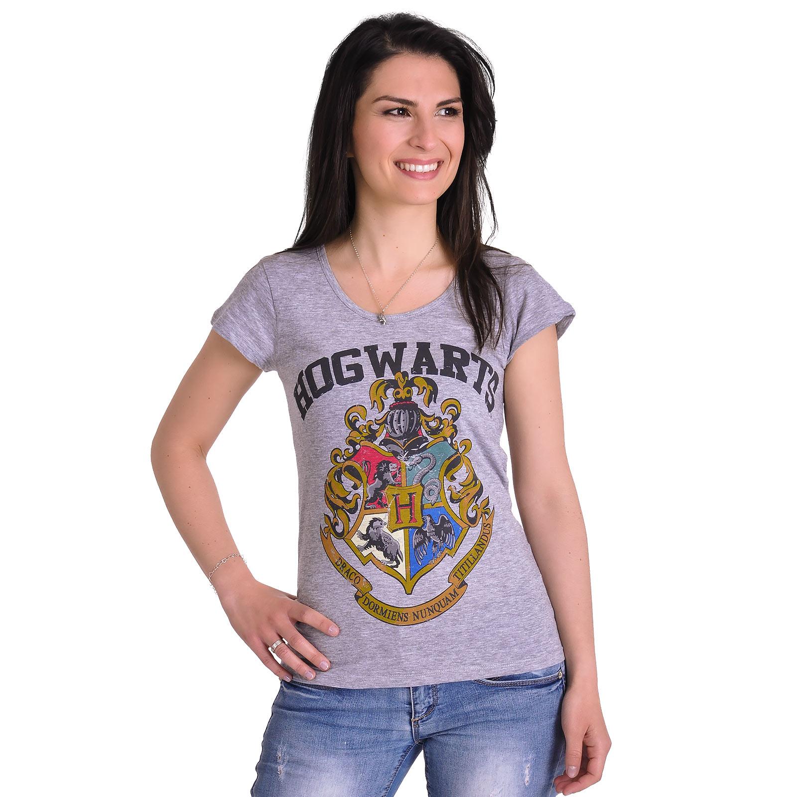 Harry Potter - Hogwarts Girlie Shirt