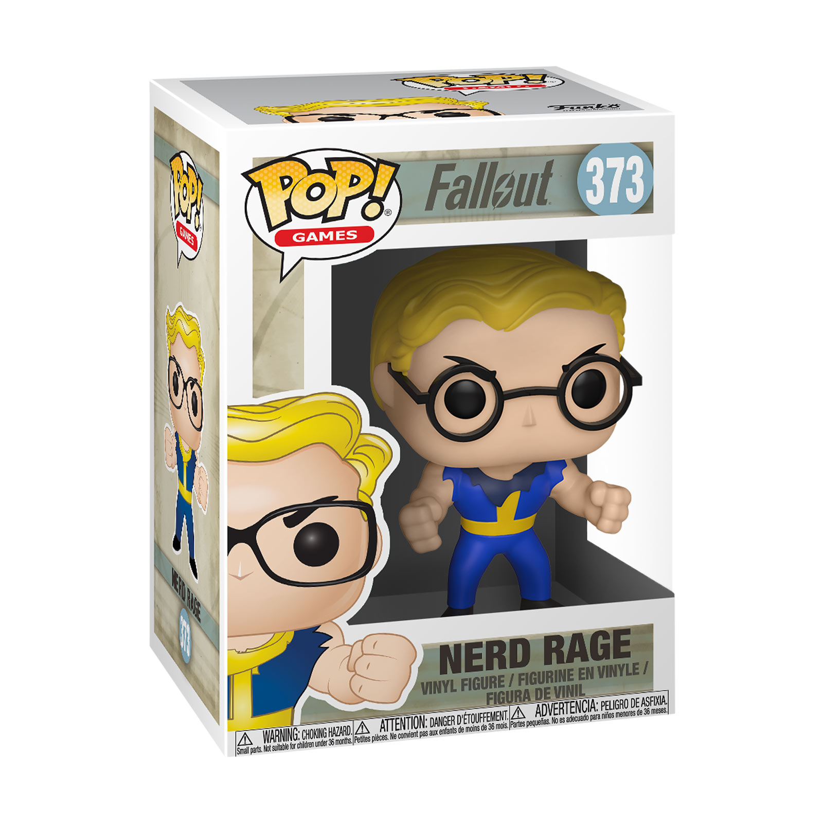 Fallout - Vault Boy Nerd Rage Funko Pop Figur